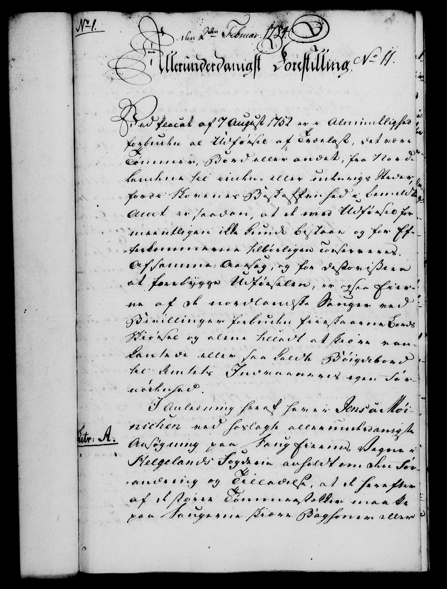 RA, Rentekammeret, Kammerkanselliet, G/Gf/Gfa/L0066: Norsk relasjons- og resolusjonsprotokoll (merket RK 52.66), 1784, s. 110