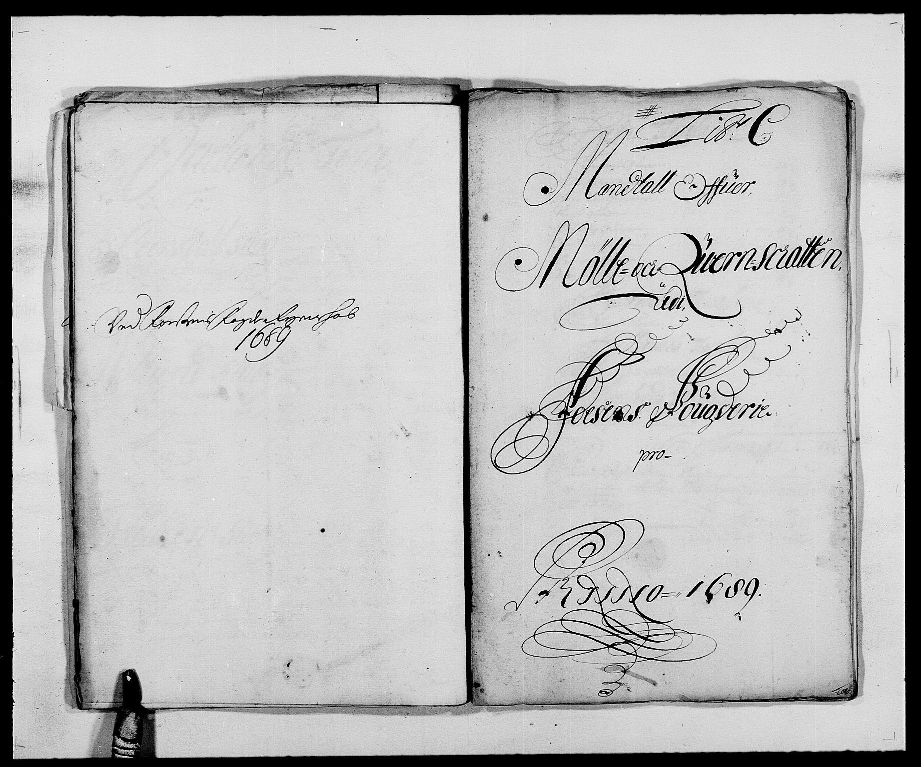 RA, Rentekammeret inntil 1814, Reviderte regnskaper, Fogderegnskap, R57/L3847: Fogderegnskap Fosen, 1689, s. 26
