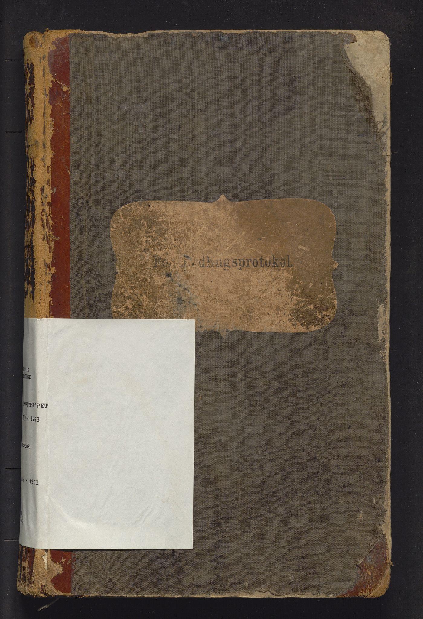 IKAH, Bruvik kommune. Formannskapet , A/Aa/L0002: Møtebok for formannskap og heradsstyre, 1889-1901