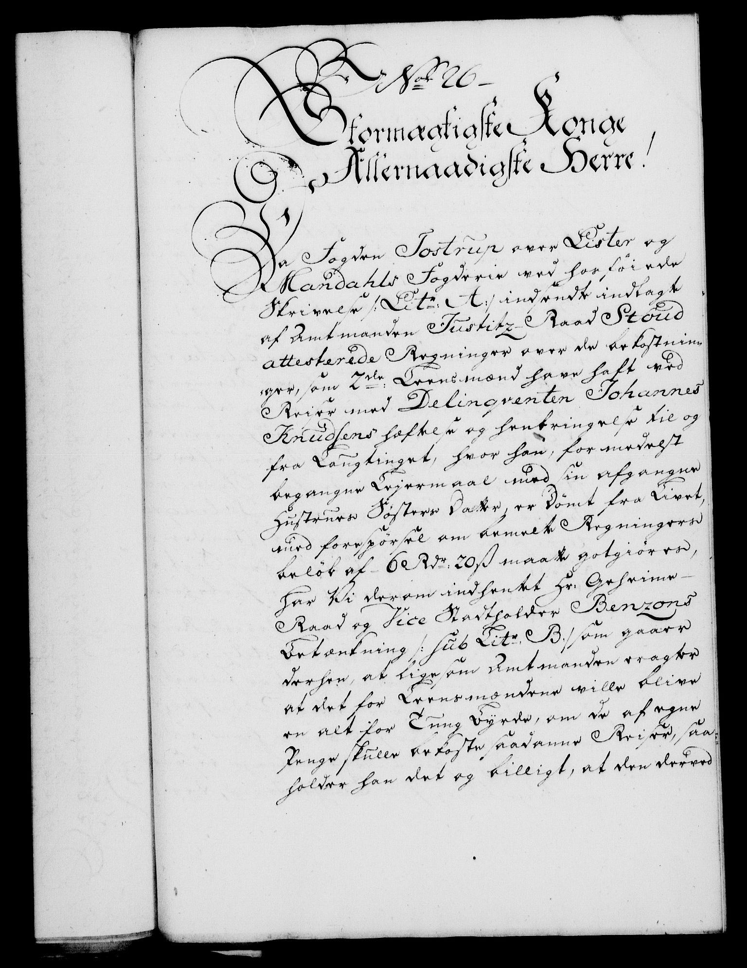 RA, Rentekammeret, Kammerkanselliet, G/Gf/Gfa/L0046: Norsk relasjons- og resolusjonsprotokoll (merket RK 52.46), 1764, s. 107
