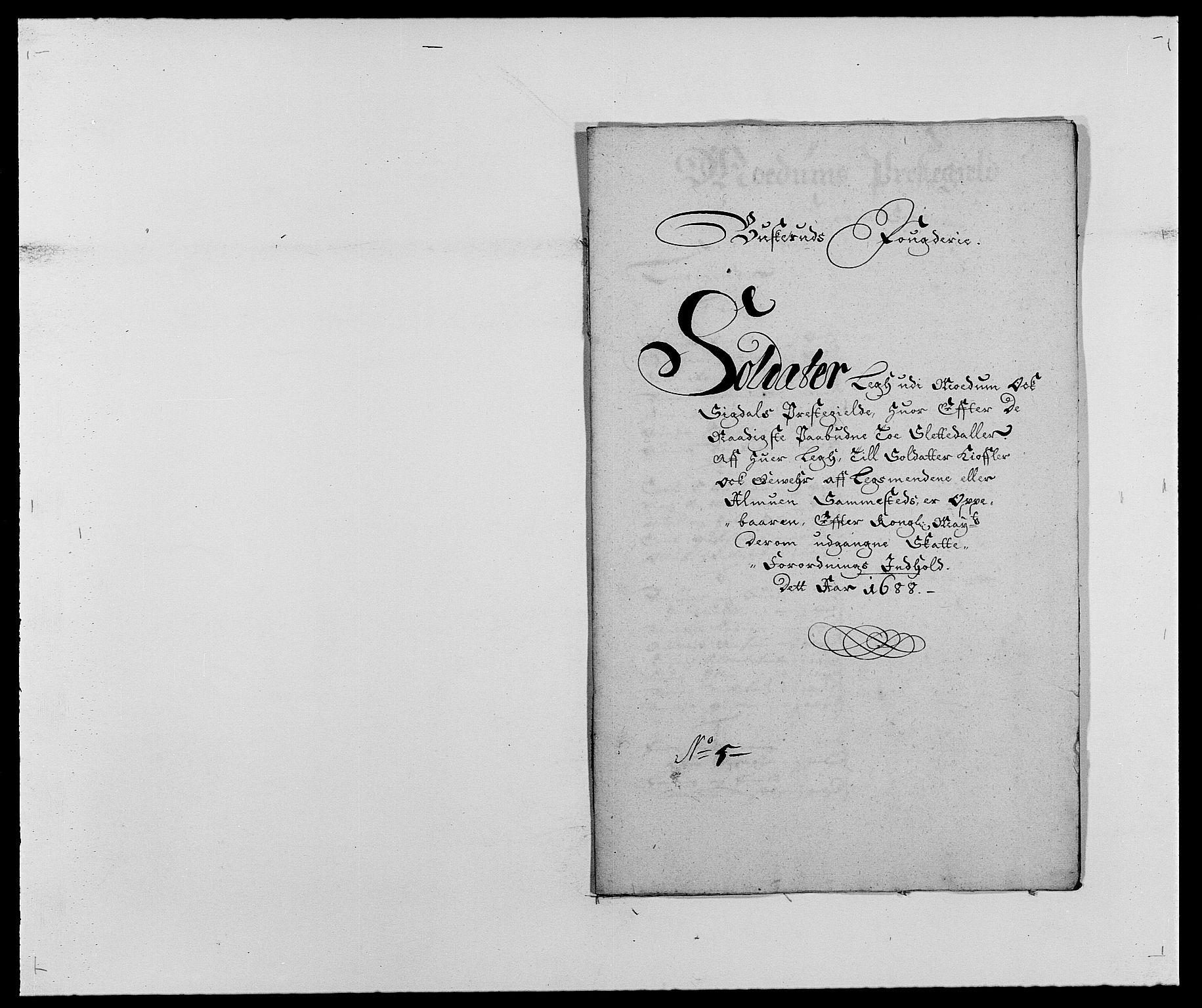 RA, Rentekammeret inntil 1814, Reviderte regnskaper, Fogderegnskap, R25/L1679: Fogderegnskap Buskerud, 1687-1688, s. 418