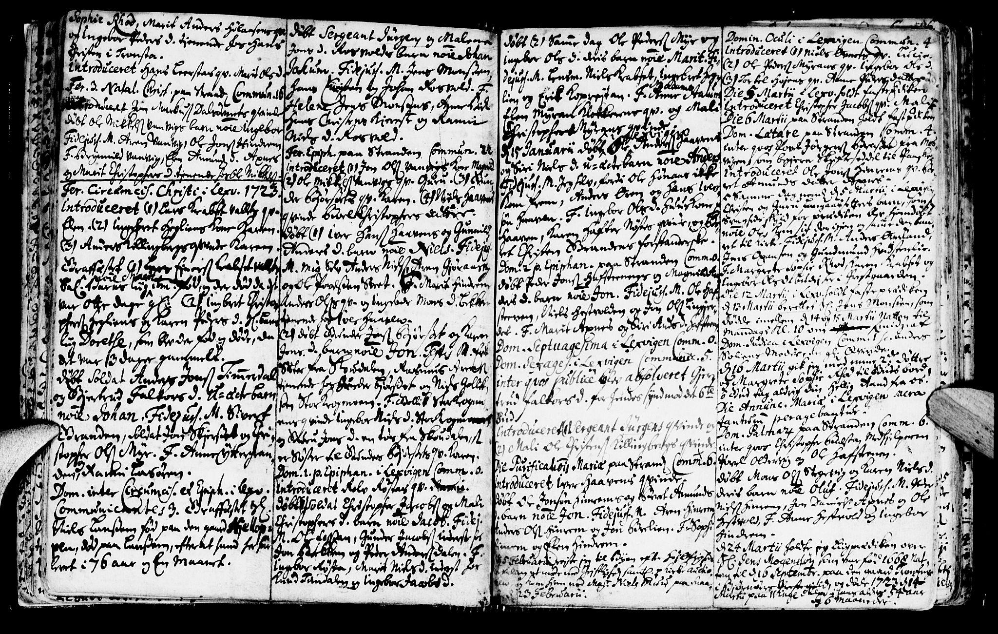 SAT, Ministerialprotokoller, klokkerbøker og fødselsregistre - Nord-Trøndelag, 701/L0001: Ministerialbok nr. 701A01, 1717-1731, s. 20
