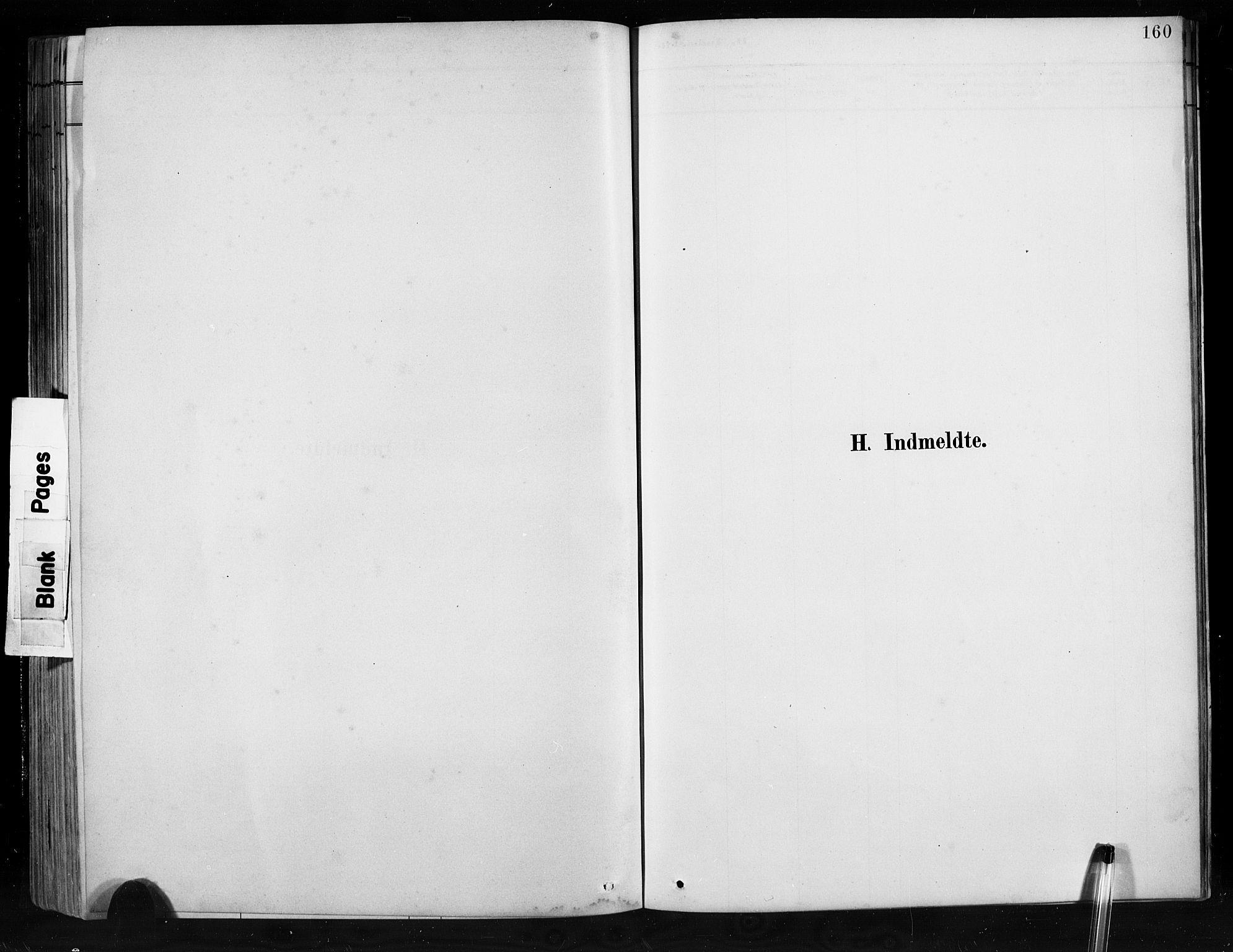 SAB, Jostedal sokneprestembete, H/Hab/Habb/L0001: Klokkerbok nr. B 1, 1882-1921, s. 160