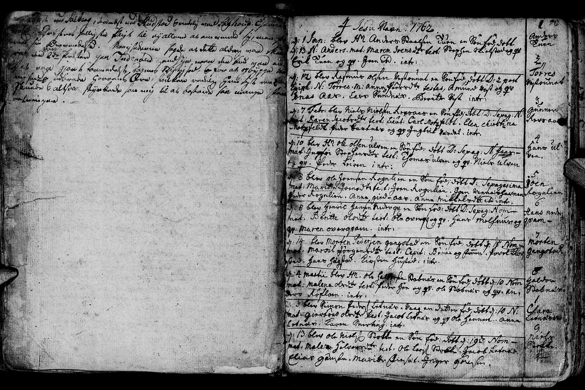 SAT, Ministerialprotokoller, klokkerbøker og fødselsregistre - Nord-Trøndelag, 730/L0273: Ministerialbok nr. 730A02, 1762-1802, s. 76