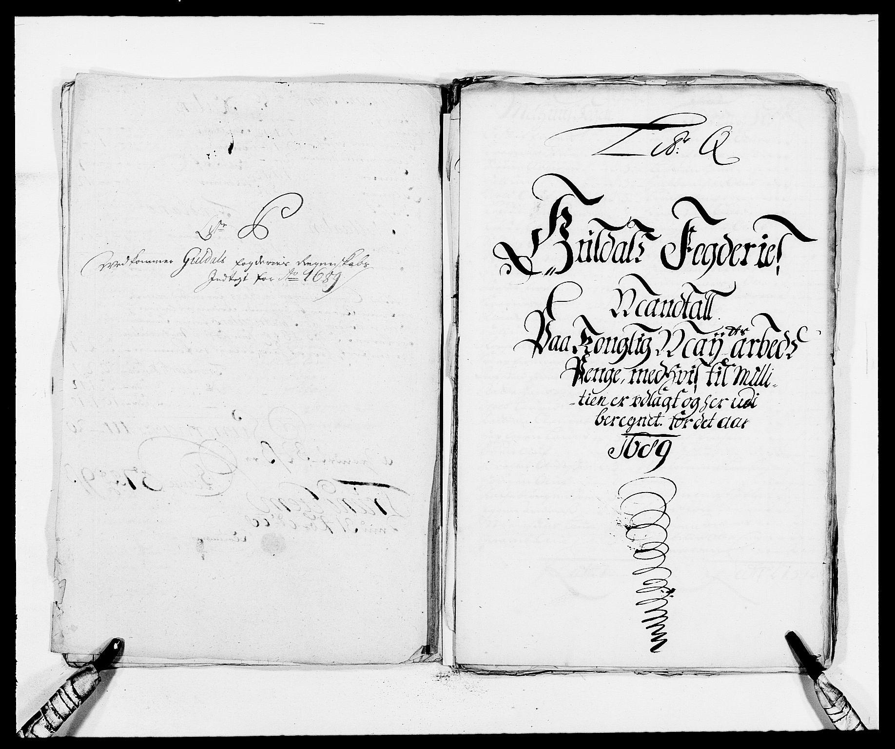 RA, Rentekammeret inntil 1814, Reviderte regnskaper, Fogderegnskap, R59/L3940: Fogderegnskap Gauldal, 1689-1690, s. 148