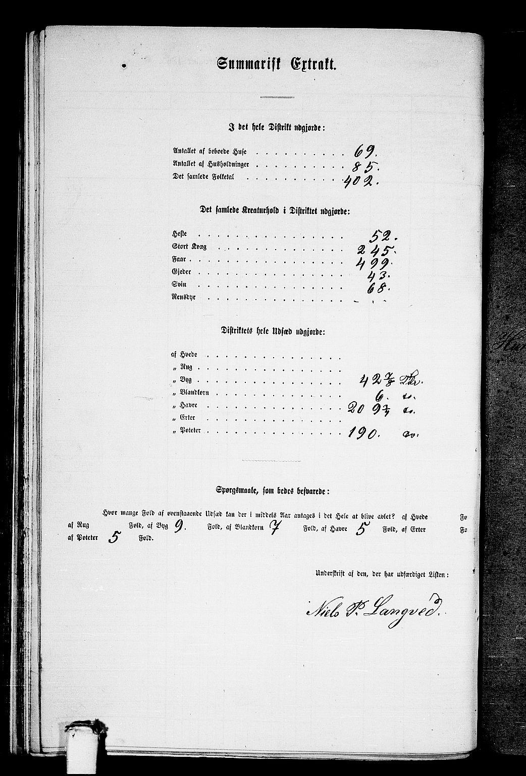 RA, Folketelling 1865 for 1534P Haram prestegjeld, 1865, s. 38