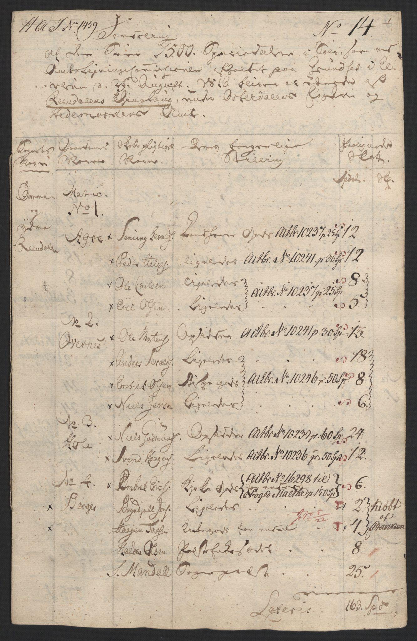 NOBA, Norges Bank/Sølvskatten 1816*, 1816, s. 16