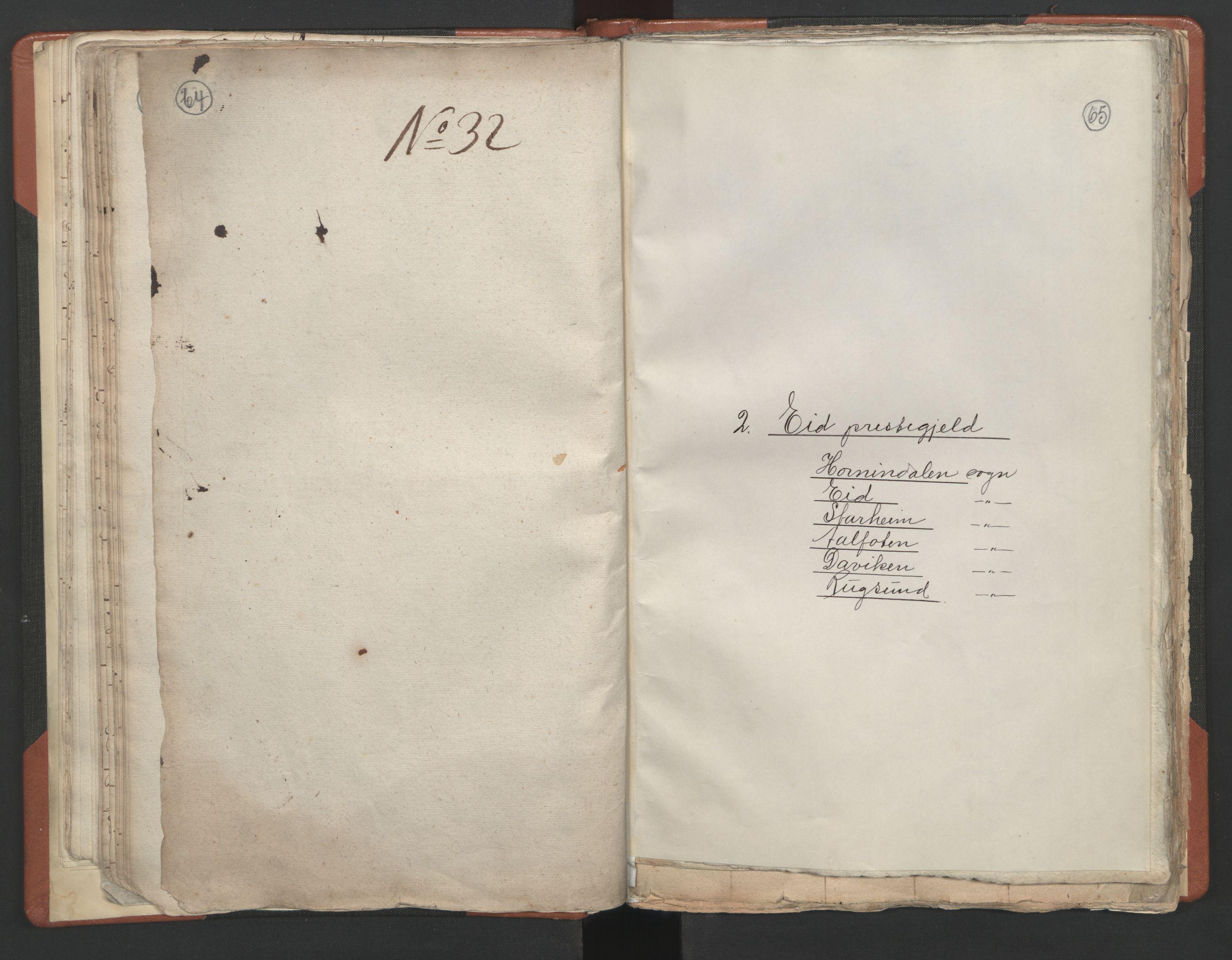 RA, Sogneprestenes manntall 1664-1666, nr. 25: Nordfjord prosti, 1664-1666, s. 64-65