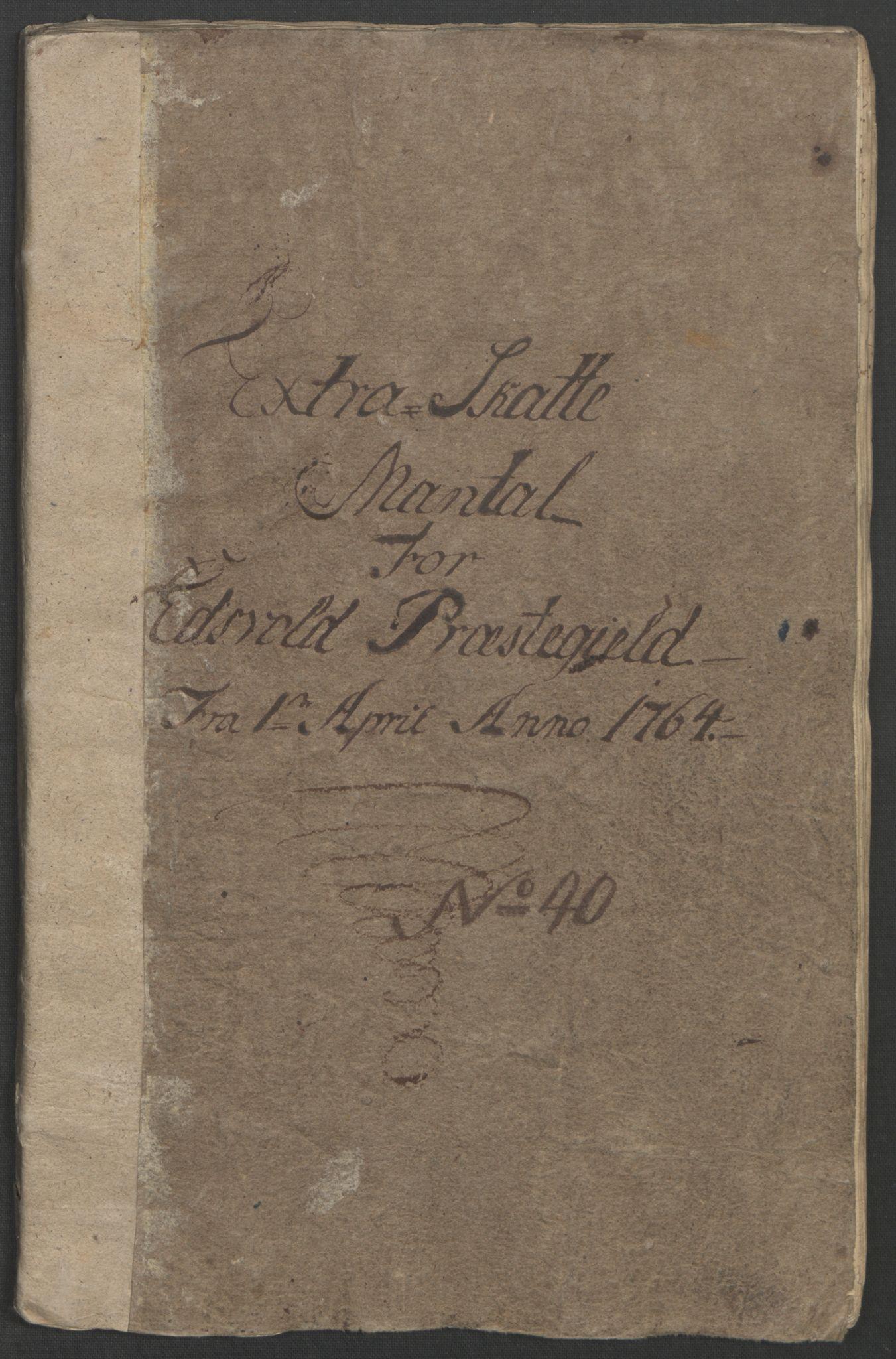 RA, Rentekammeret inntil 1814, Reviderte regnskaper, Fogderegnskap, R12/L0804: Ekstraskatten Øvre Romerike, 1764, s. 87