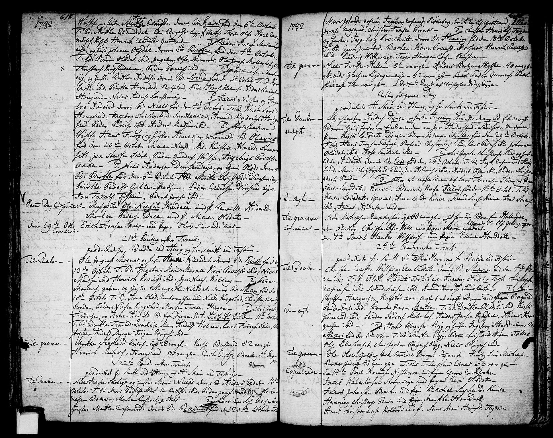 SAKO, Eiker kirkebøker, F/Fa/L0008: Ministerialbok nr. I 8, 1764-1788, s. 618-619