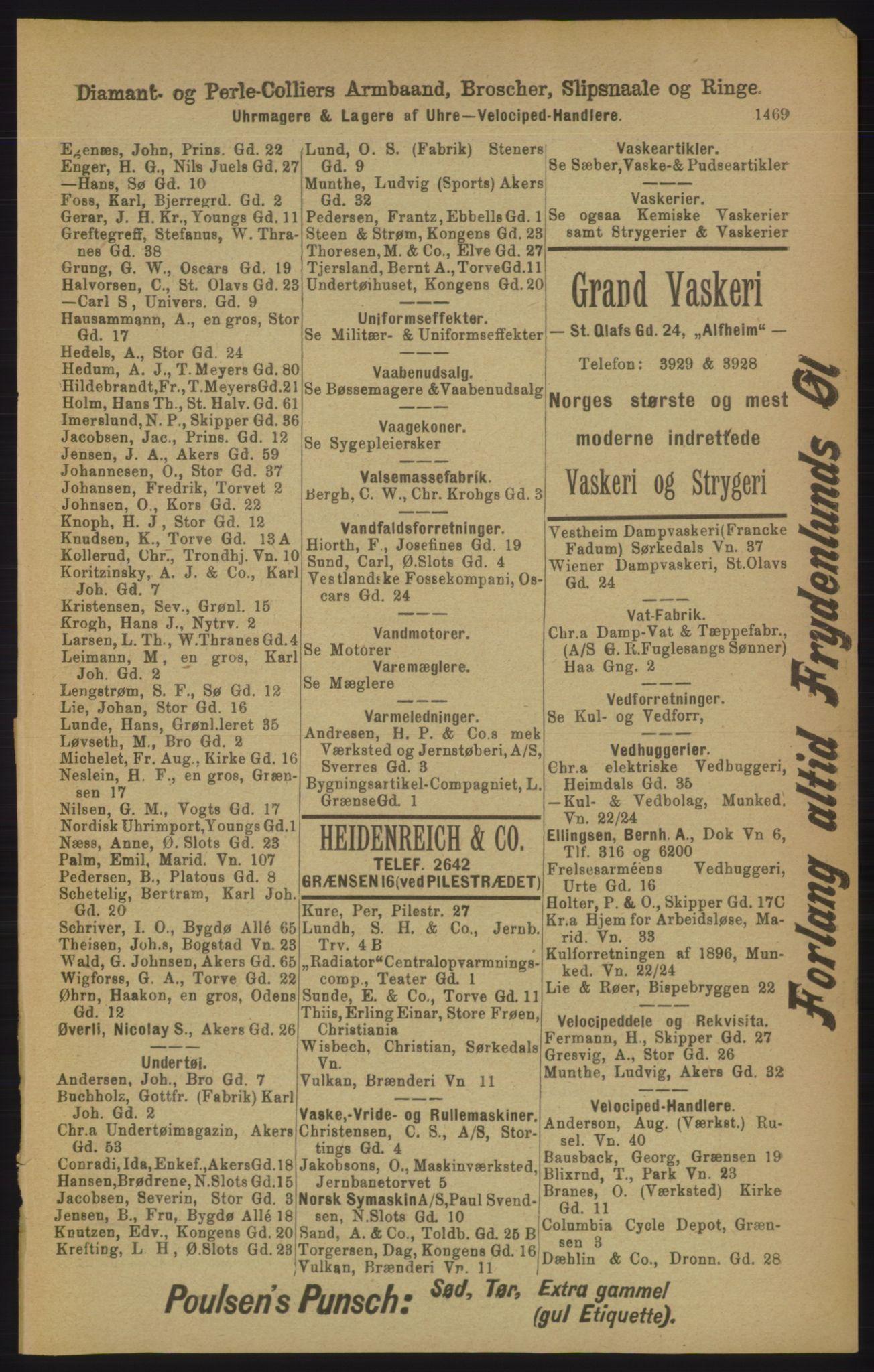 PUBL, Kristiania/Oslo adressebok, 1906, s. 1469