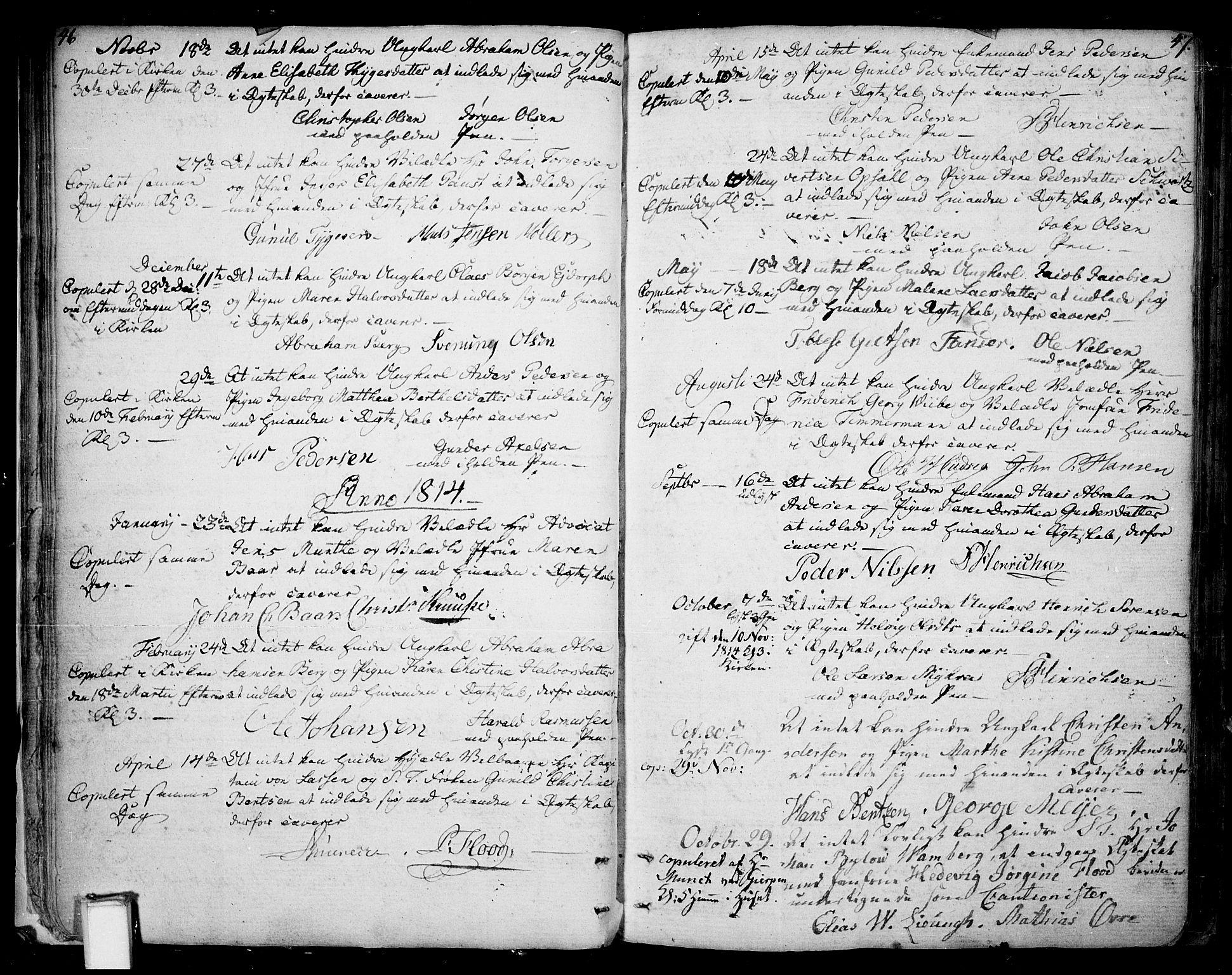 SAKO, Skien kirkebøker, F/Fa/L0004: Ministerialbok nr. 4, 1792-1814, s. 46-47