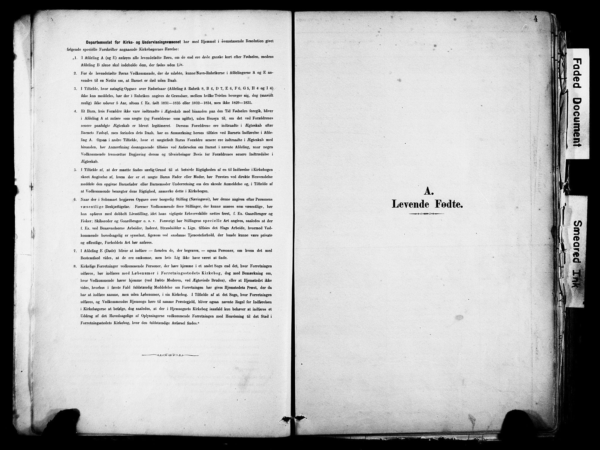SAB, Eid Sokneprestembete, H/Haa: Ministerialbok nr. B 1, 1879-1906, s. 4