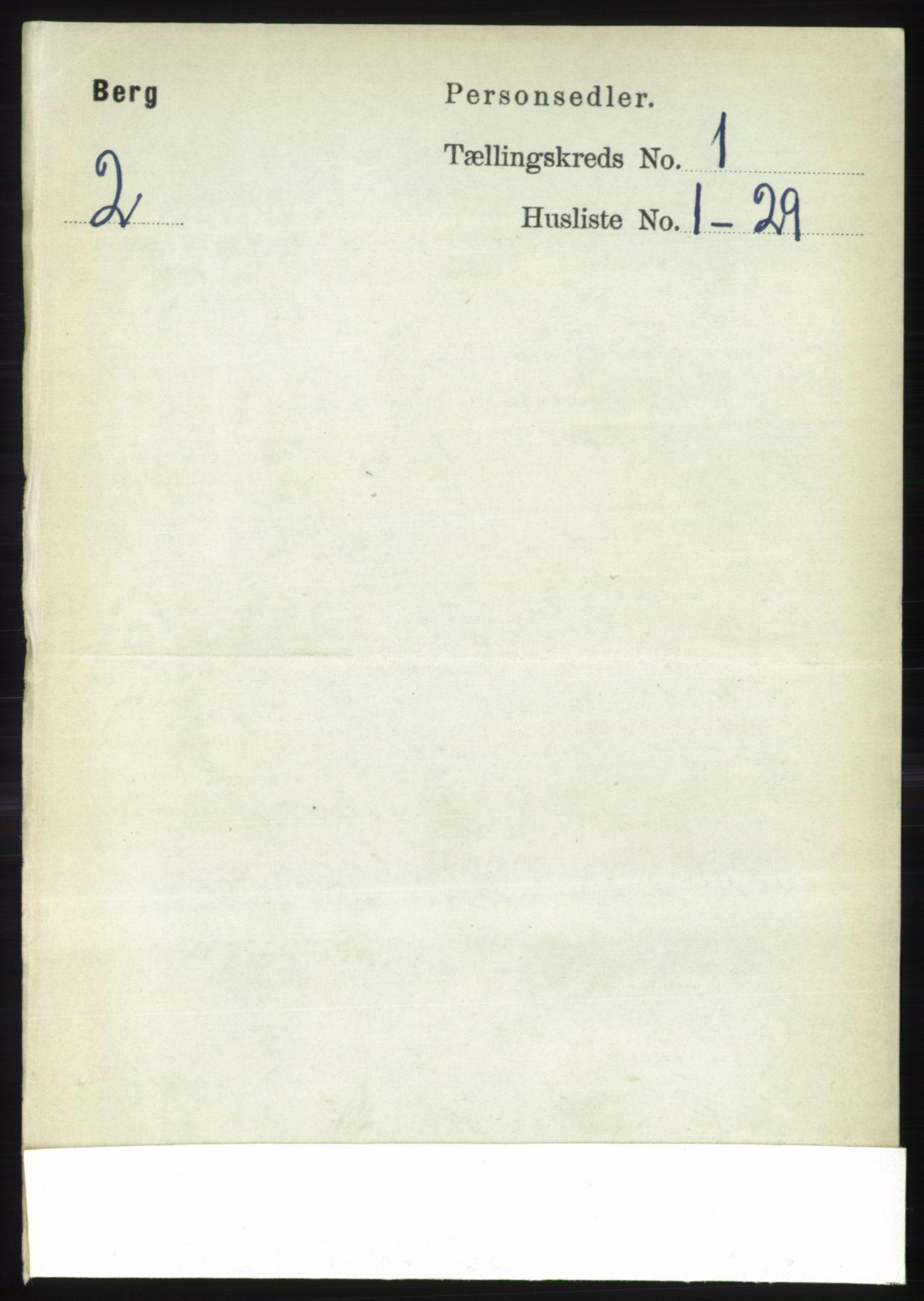RA, Folketelling 1891 for 1929 Berg herred, 1891, s. 94