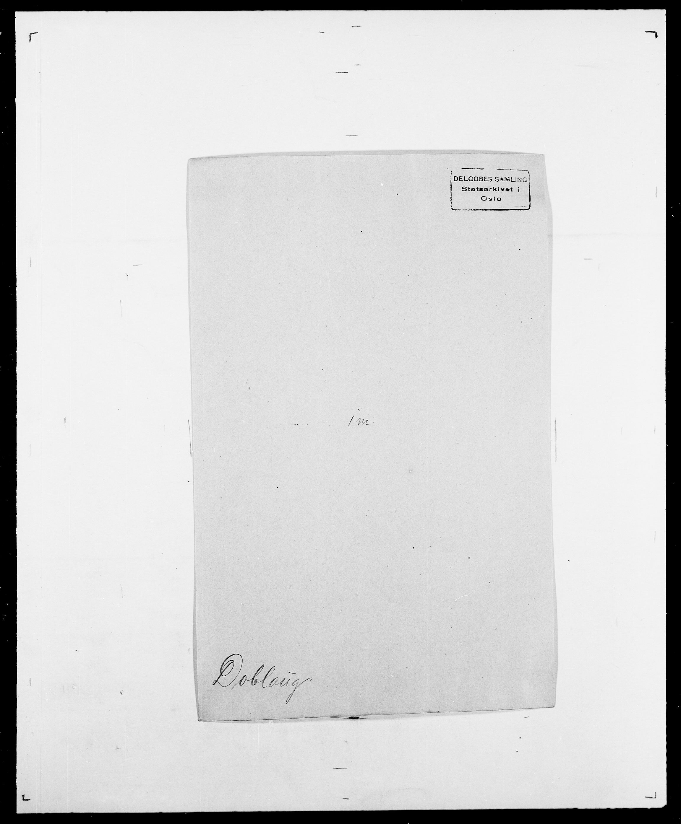 SAO, Delgobe, Charles Antoine - samling, D/Da/L0009: Dahl - v. Düren, s. 621