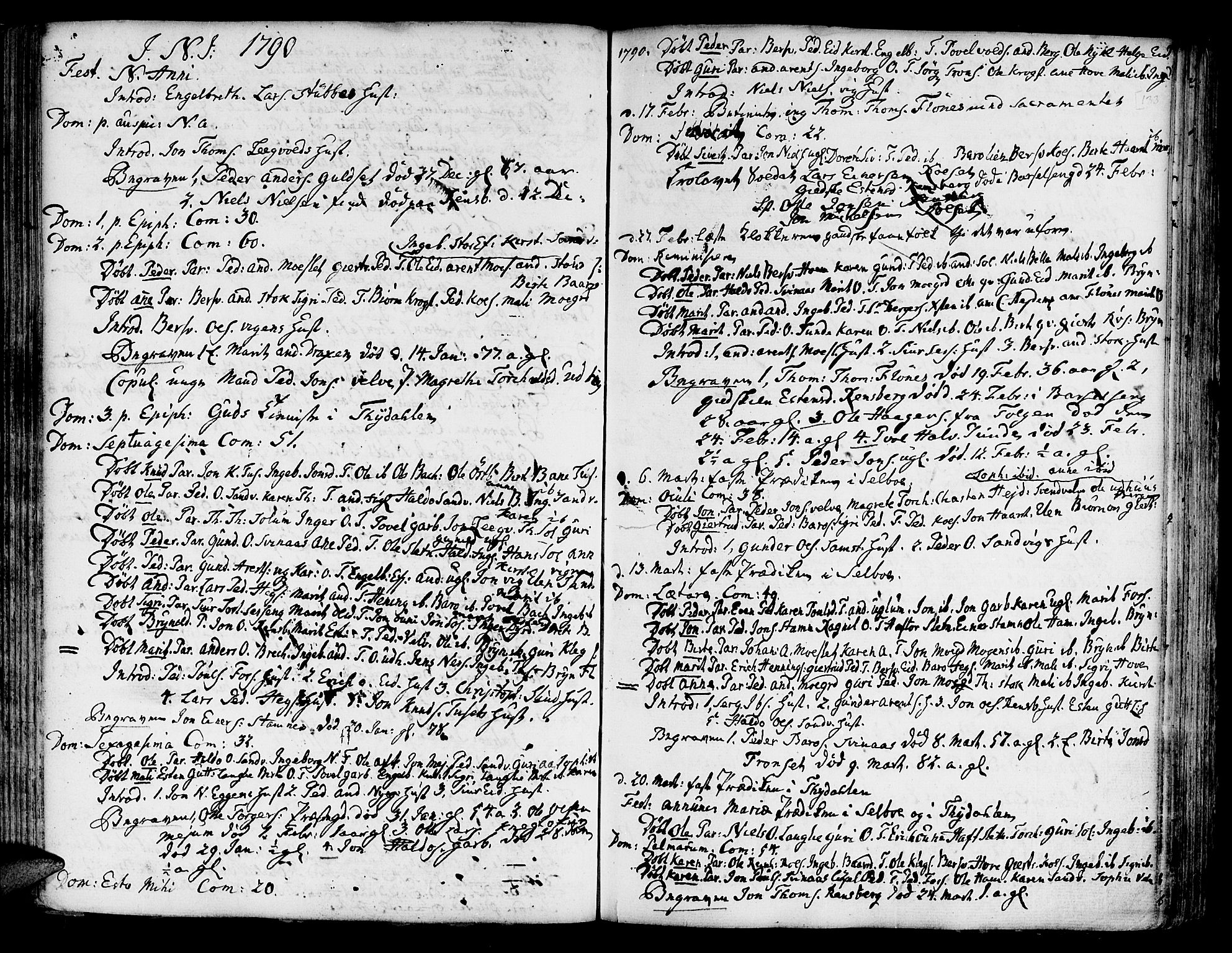 SAT, Ministerialprotokoller, klokkerbøker og fødselsregistre - Sør-Trøndelag, 695/L1138: Ministerialbok nr. 695A02 /1, 1757-1801, s. 133