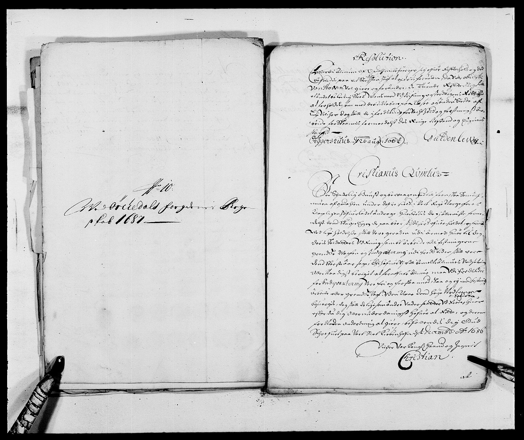 RA, Rentekammeret inntil 1814, Reviderte regnskaper, Fogderegnskap, R58/L3935: Fogderegnskap Orkdal, 1687-1688, s. 175