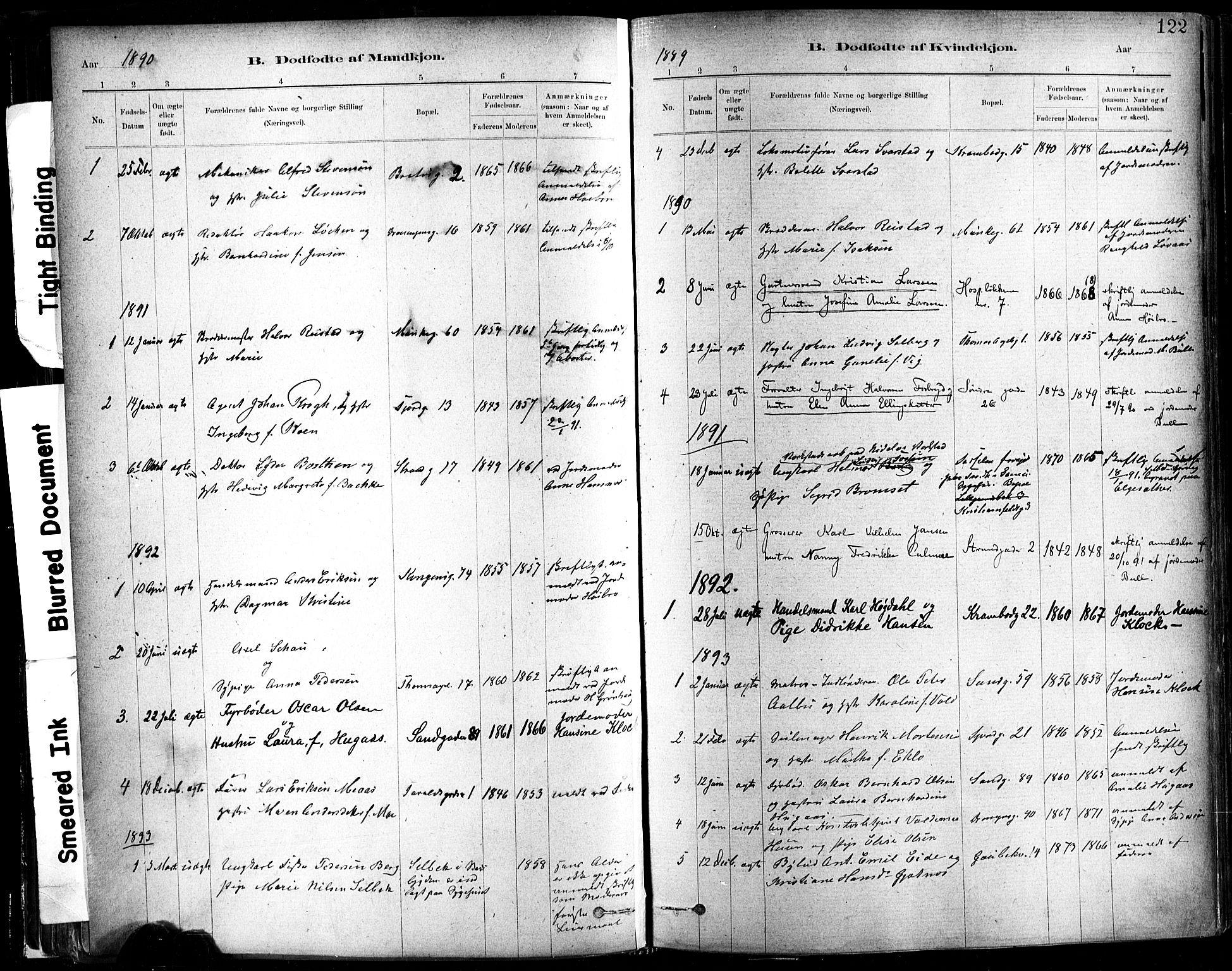 SAT, Ministerialprotokoller, klokkerbøker og fødselsregistre - Sør-Trøndelag, 602/L0119: Ministerialbok nr. 602A17, 1880-1901, s. 122