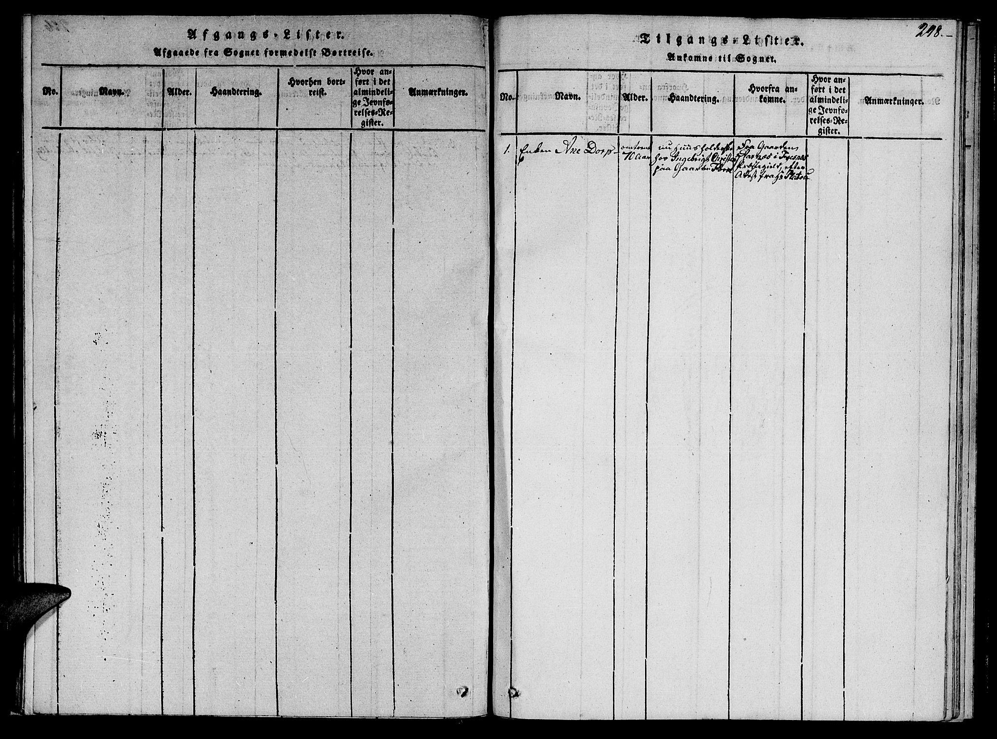 SAT, Ministerialprotokoller, klokkerbøker og fødselsregistre - Nord-Trøndelag, 766/L0565: Klokkerbok nr. 767C01, 1817-1823, s. 298
