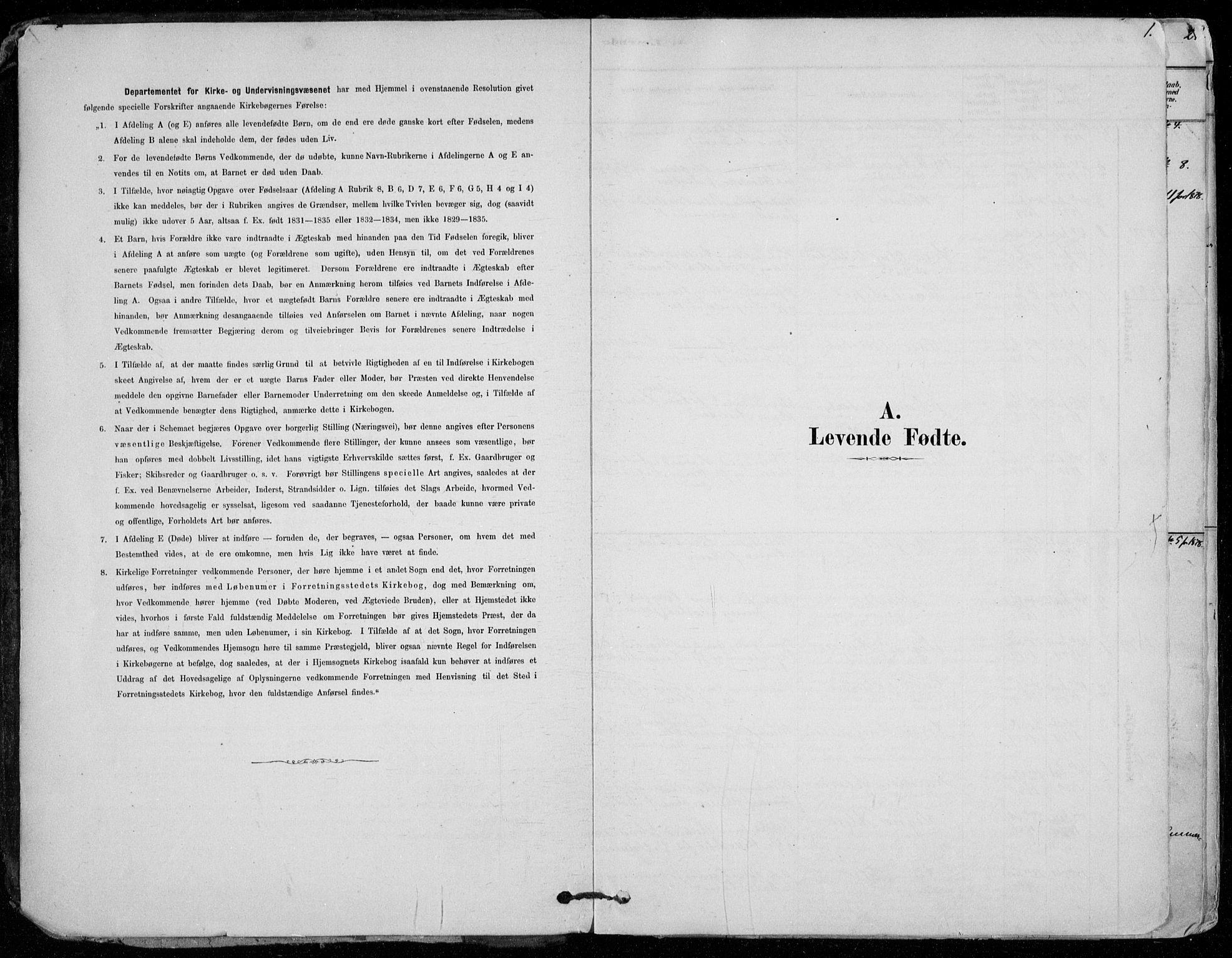 SAO, Vestby prestekontor Kirkebøker, F/Fd/L0001: Ministerialbok nr. IV 1, 1878-1945, s. 1