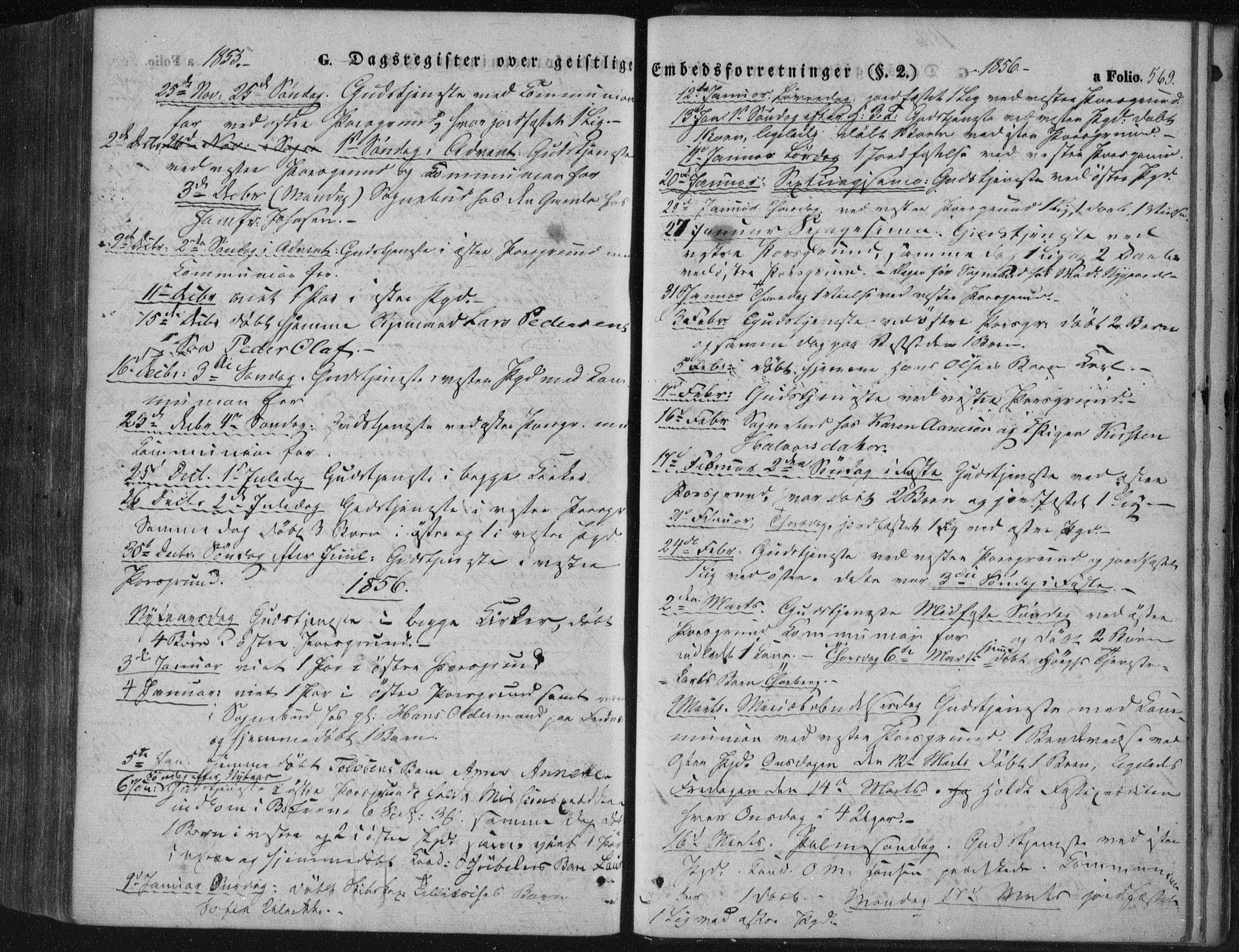 SAKO, Porsgrunn kirkebøker , F/Fa/L0006: Ministerialbok nr. 6, 1841-1857, s. 569