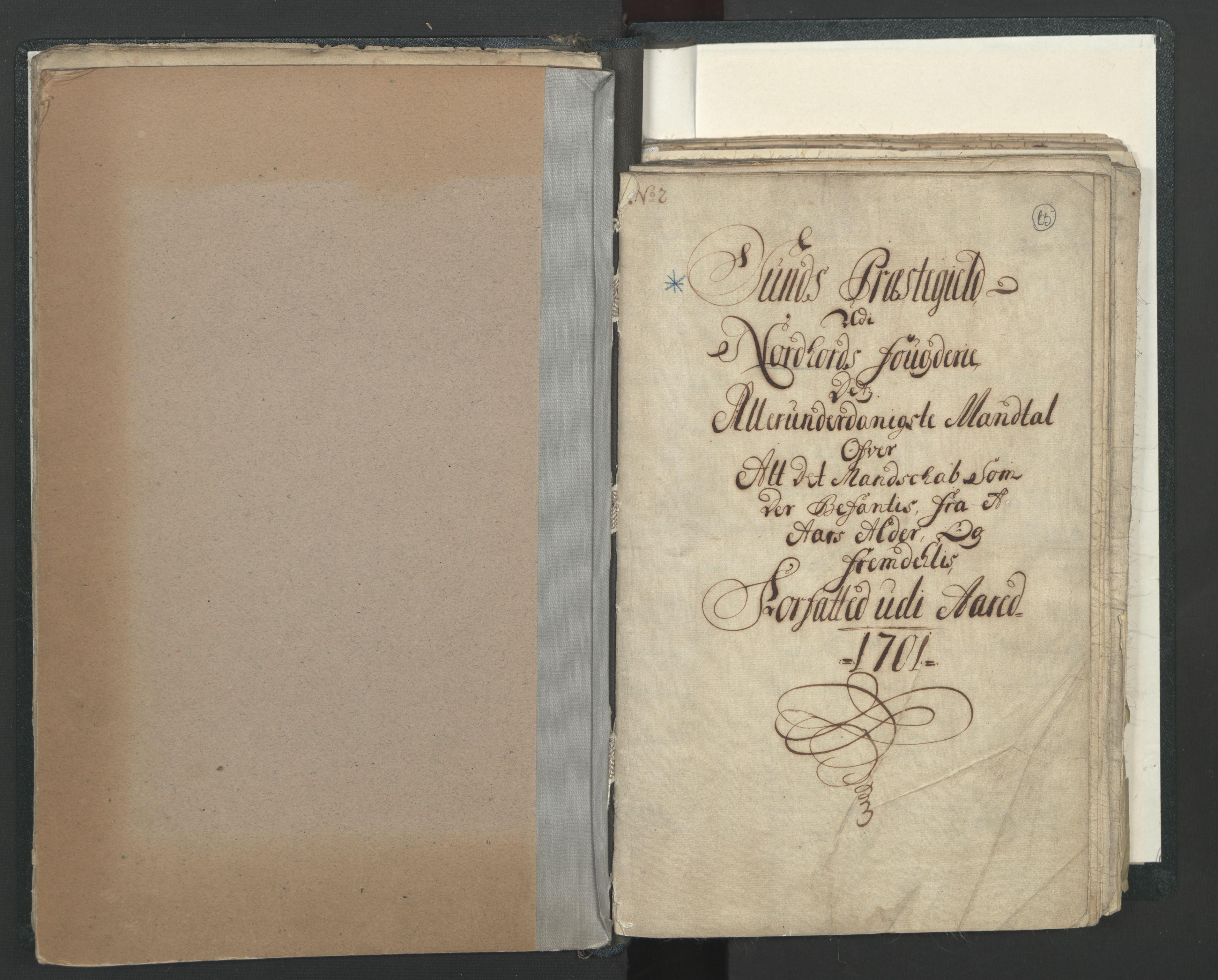 RA, Manntallet 1701, nr. 7: Nordhordland og Voss fogderi, 1701, s. 65
