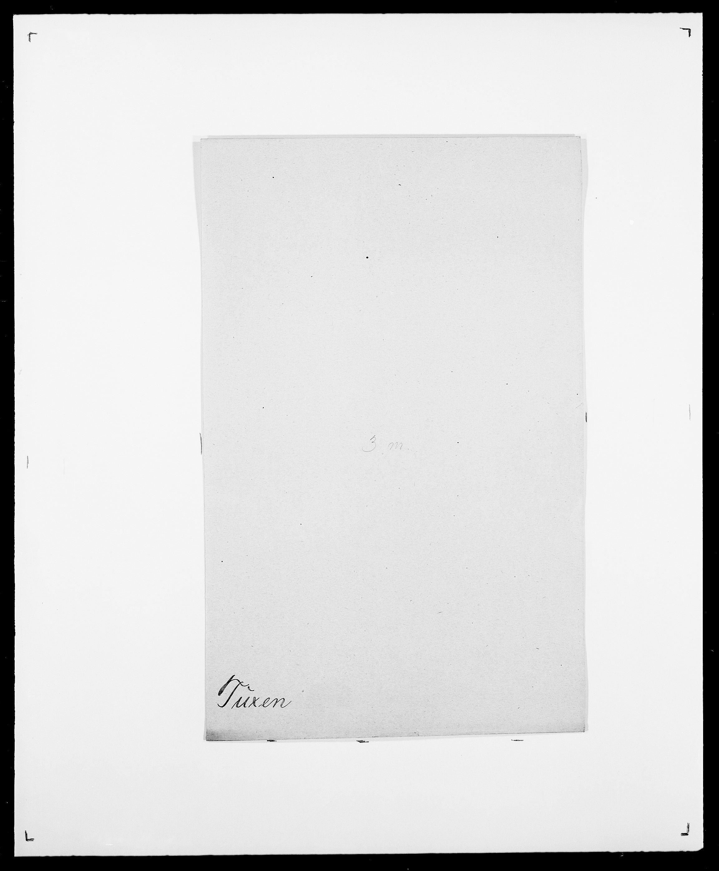 SAO, Delgobe, Charles Antoine - samling, D/Da/L0039: Thorsen - Urup, s. 481