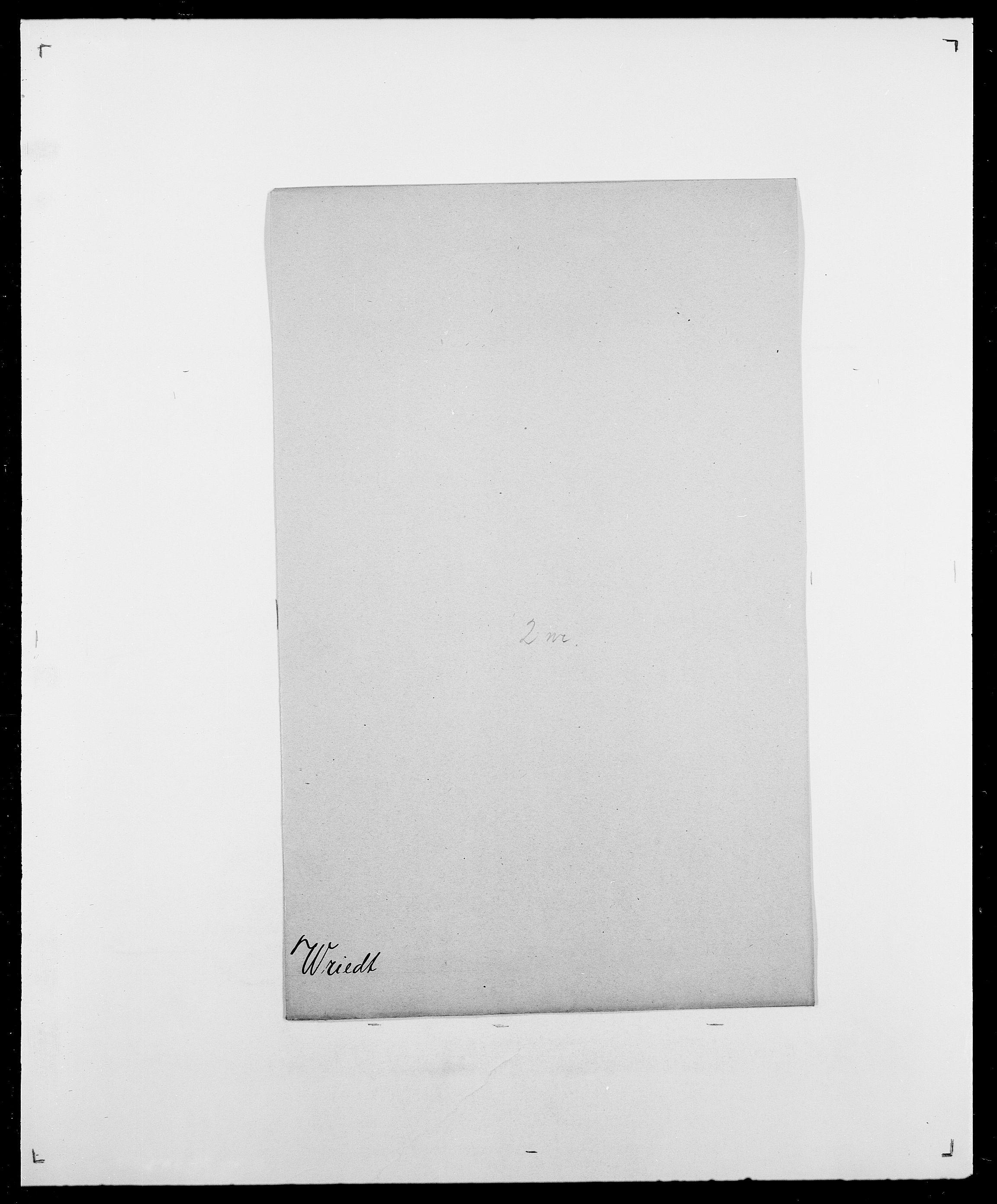 SAO, Delgobe, Charles Antoine - samling, D/Da/L0042: Vilain - Wulf, Wulff, se også Wolf, s. 753