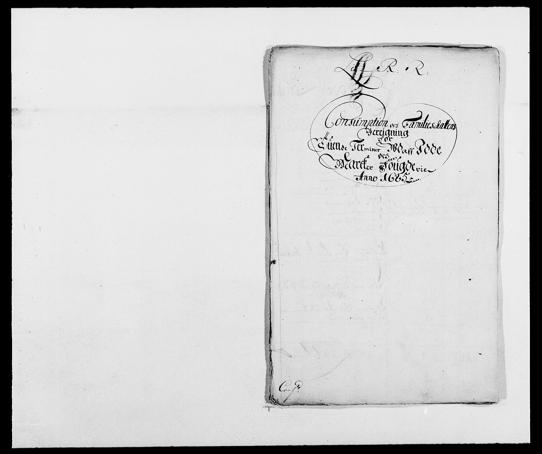 RA, Rentekammeret inntil 1814, Reviderte regnskaper, Fogderegnskap, R01/L0006: Fogderegnskap Idd og Marker, 1685-1686, s. 176