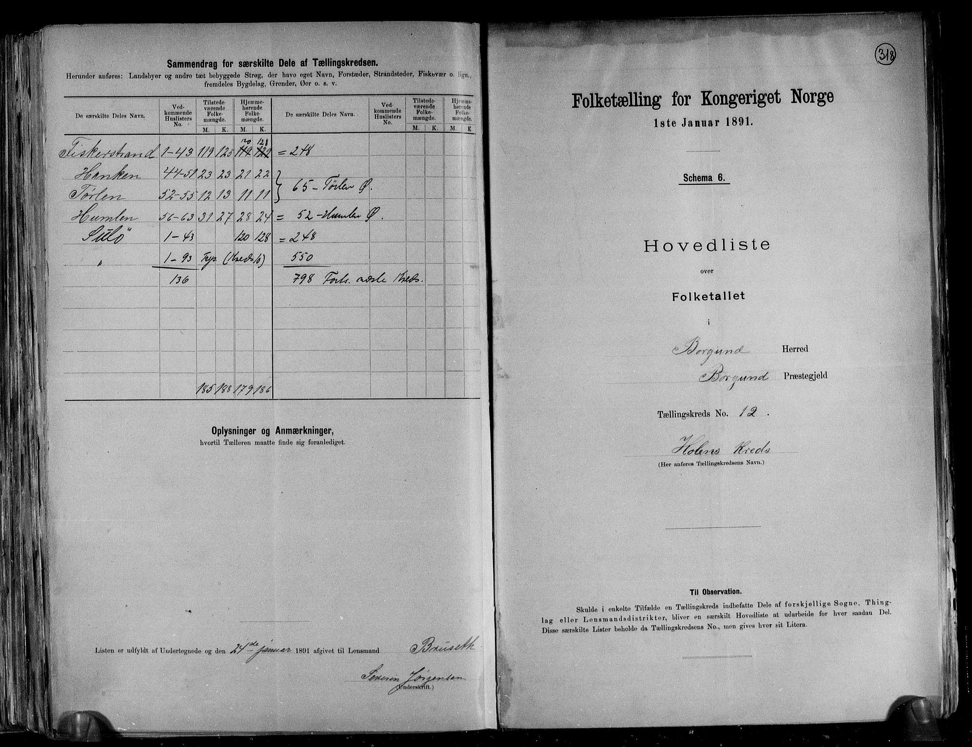 RA, Folketelling 1891 for 1531 Borgund herred, 1891, s. 29