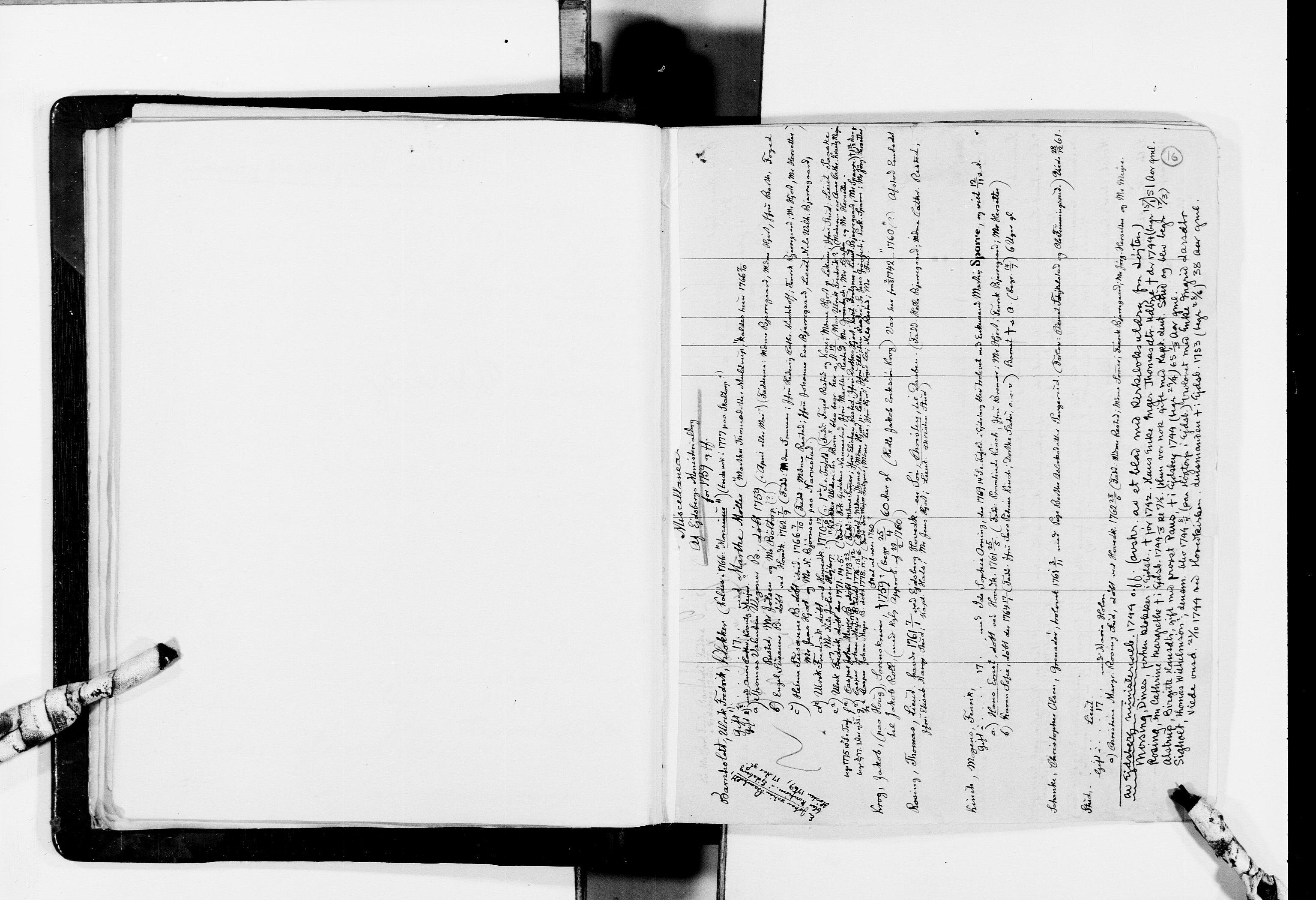 RA, Lassens samlinger, F/Fc, s. 16