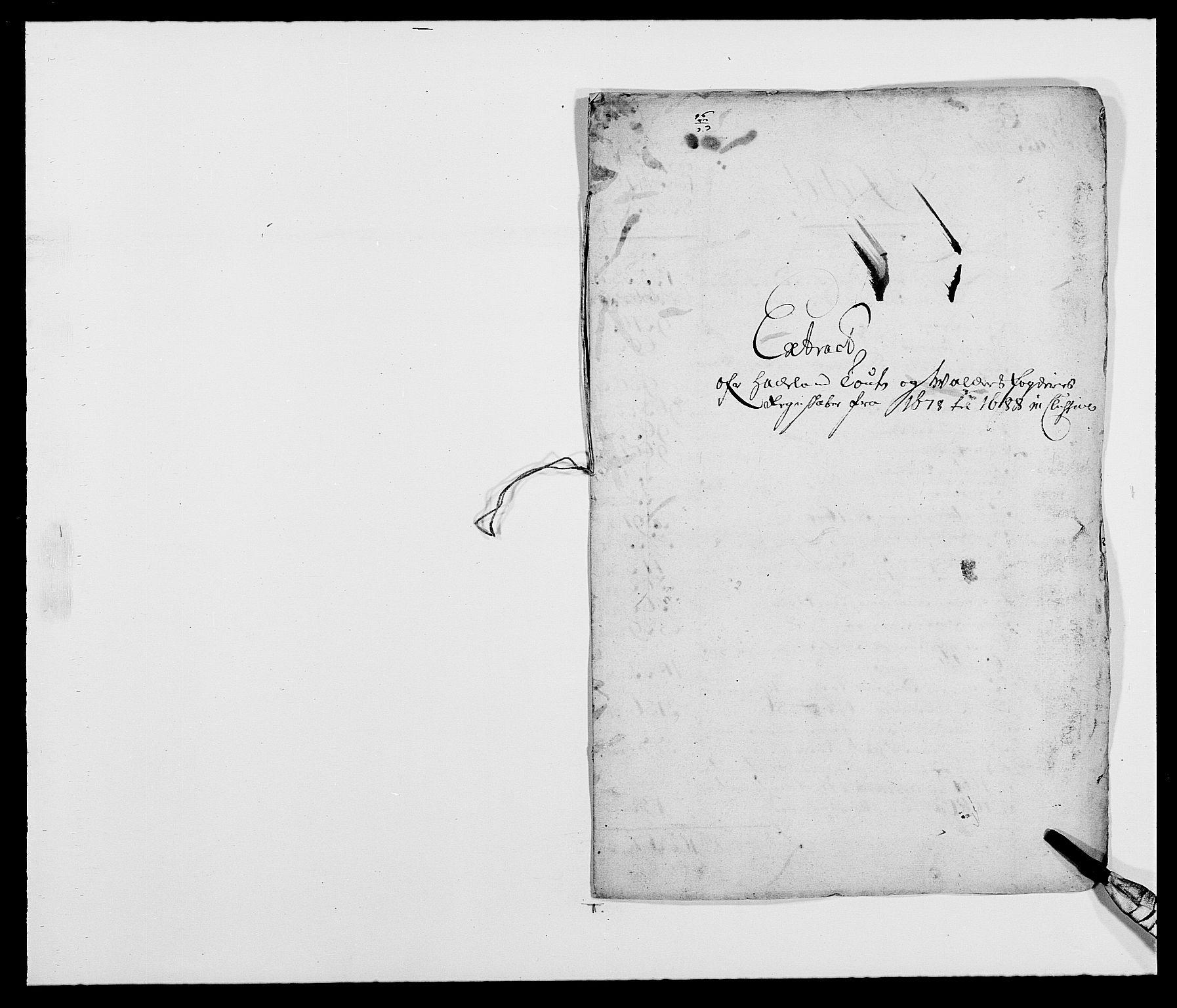 RA, Rentekammeret inntil 1814, Reviderte regnskaper, Fogderegnskap, R18/L1287: Fogderegnskap Hadeland, Toten og Valdres, 1688, s. 41
