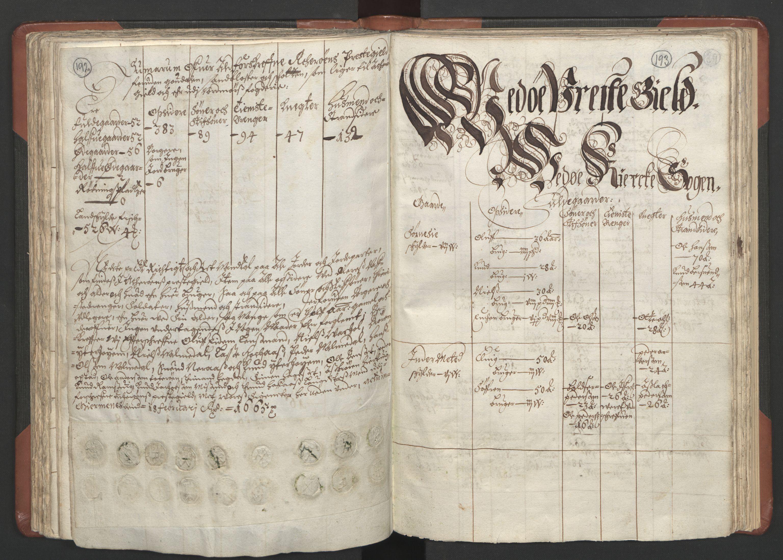 RA, Fogdenes og sorenskrivernes manntall 1664-1666, nr. 16: Romsdal fogderi og Sunnmøre fogderi, 1664-1665, s. 192-193