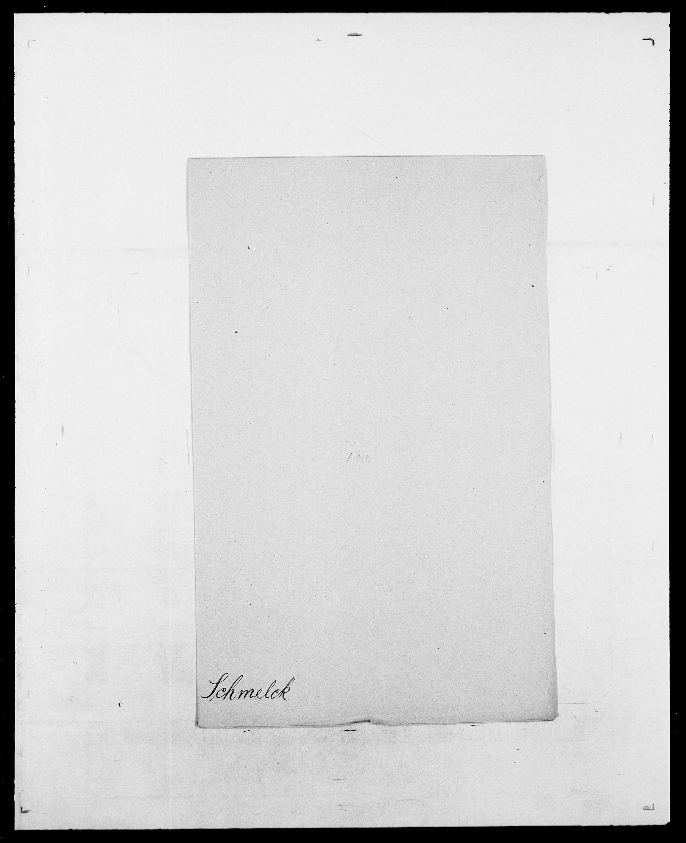 SAO, Delgobe, Charles Antoine - samling, D/Da/L0034: Saabye - Schmincke, s. 846