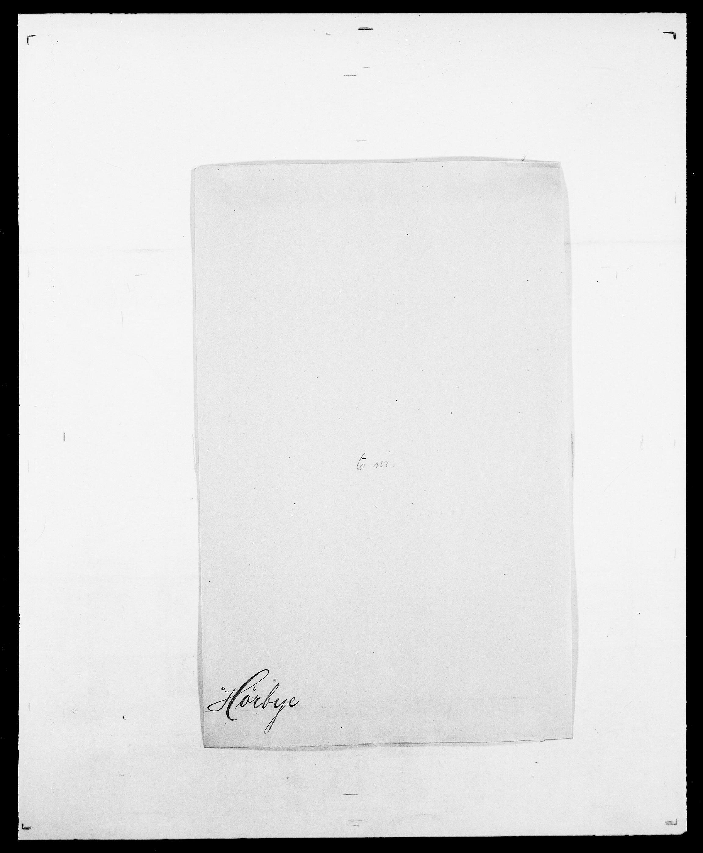 SAO, Delgobe, Charles Antoine - samling, D/Da/L0019: van der Hude - Joys, s. 373