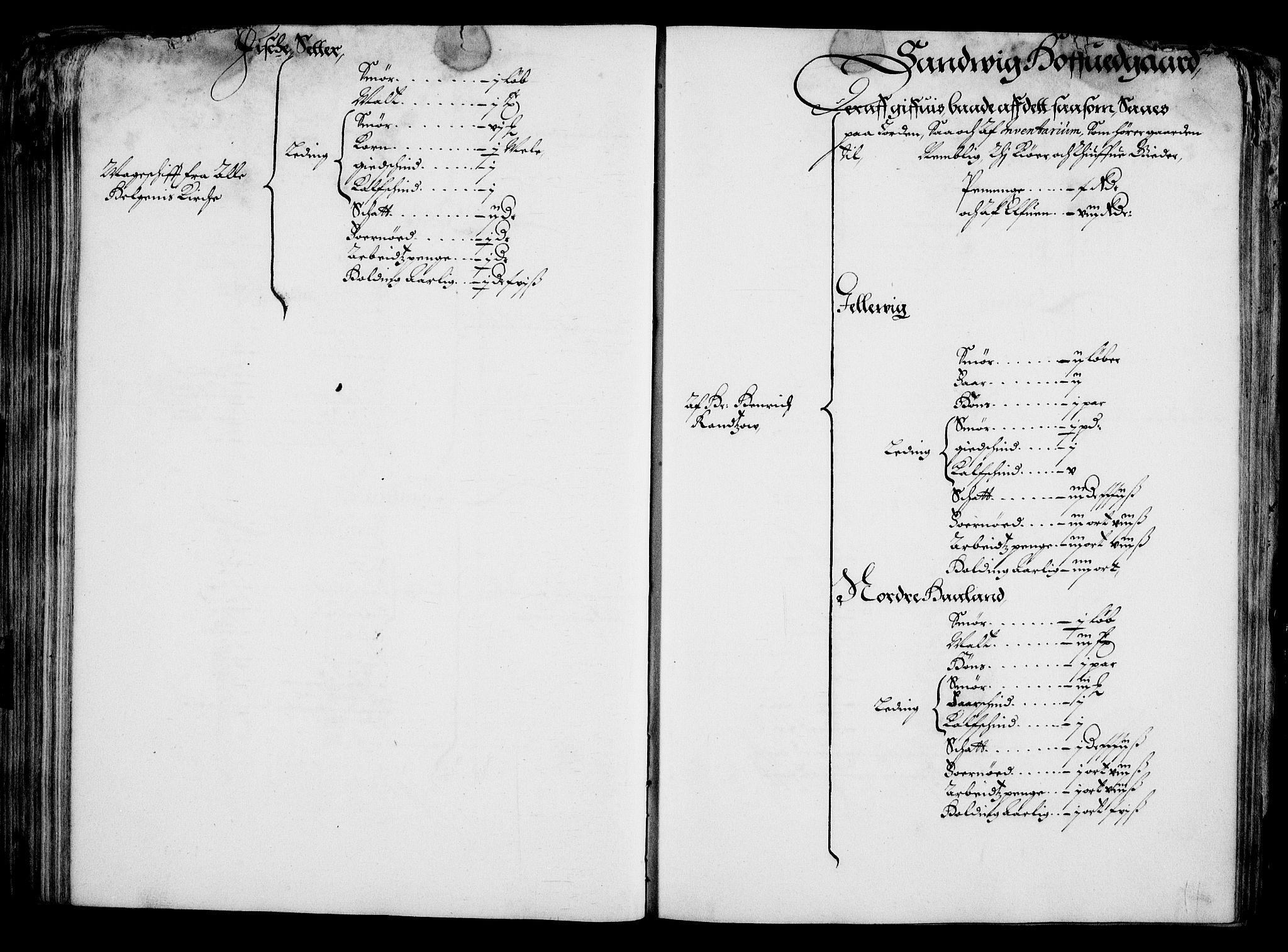 RA, Rentekammeret inntil 1814, Realistisk ordnet avdeling, On/L0001: Statens gods, 1651, s. 188