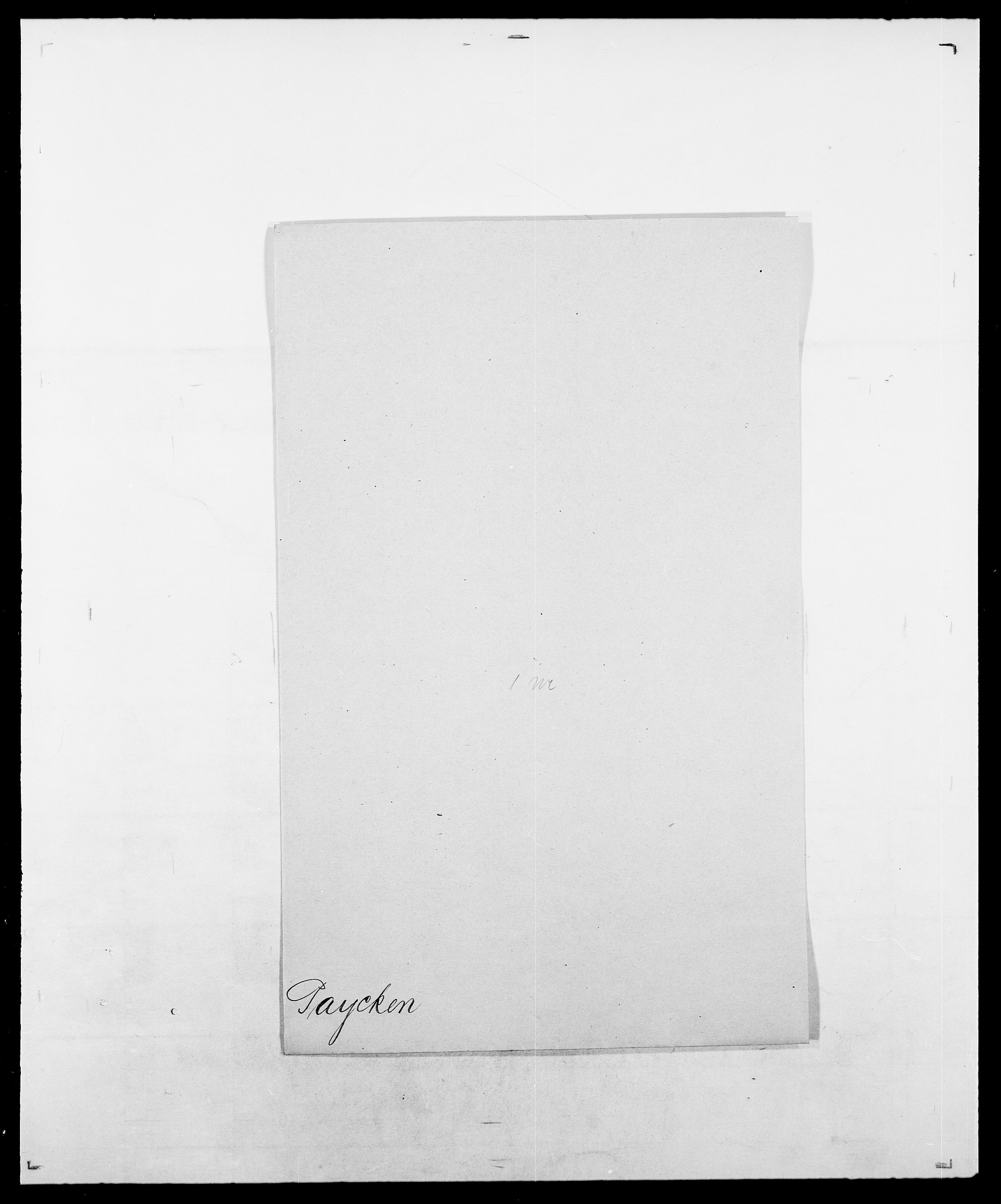 SAO, Delgobe, Charles Antoine - samling, D/Da/L0030: Paars - Pittelkov, s. 260