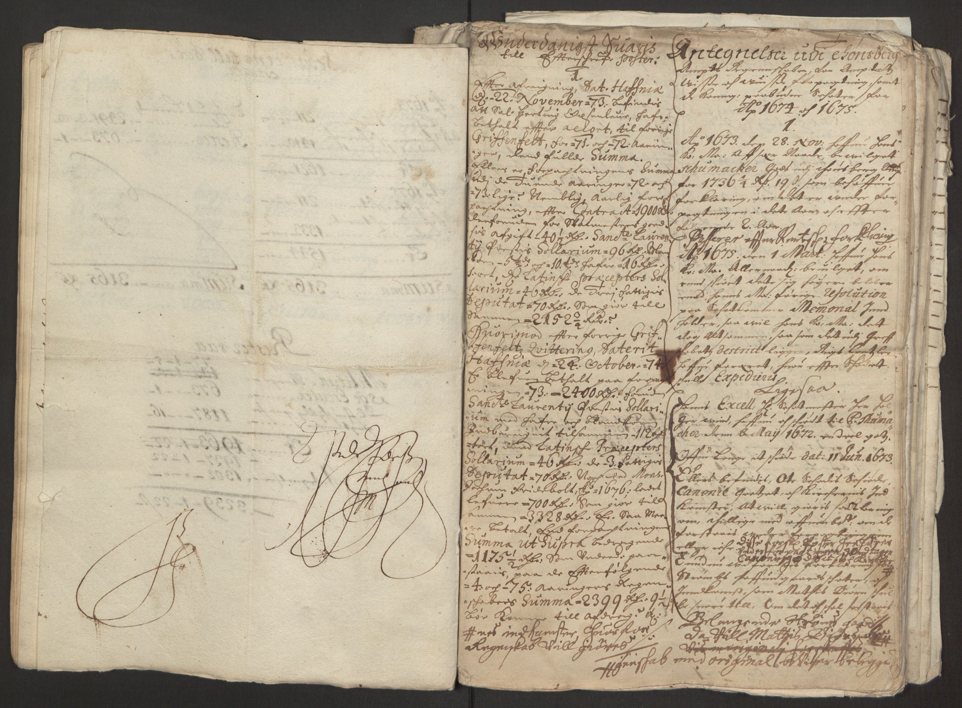RA, Rentekammeret inntil 1814, Reviderte regnskaper, Fogderegnskap, R32/L1843: Fogderegnskap Jarlsberg grevskap, 1674-1675, s. 27
