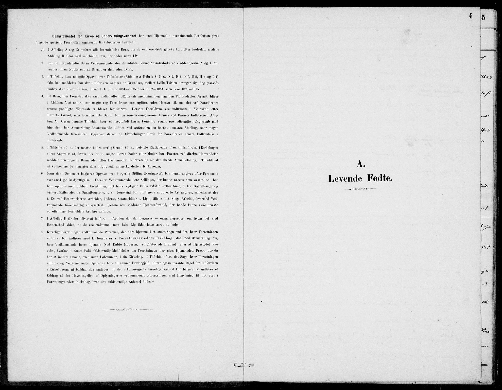 SAB, Hosanger sokneprestembete, H/Haa: Ministerialbok nr. C  1, 1880-1900, s. 4