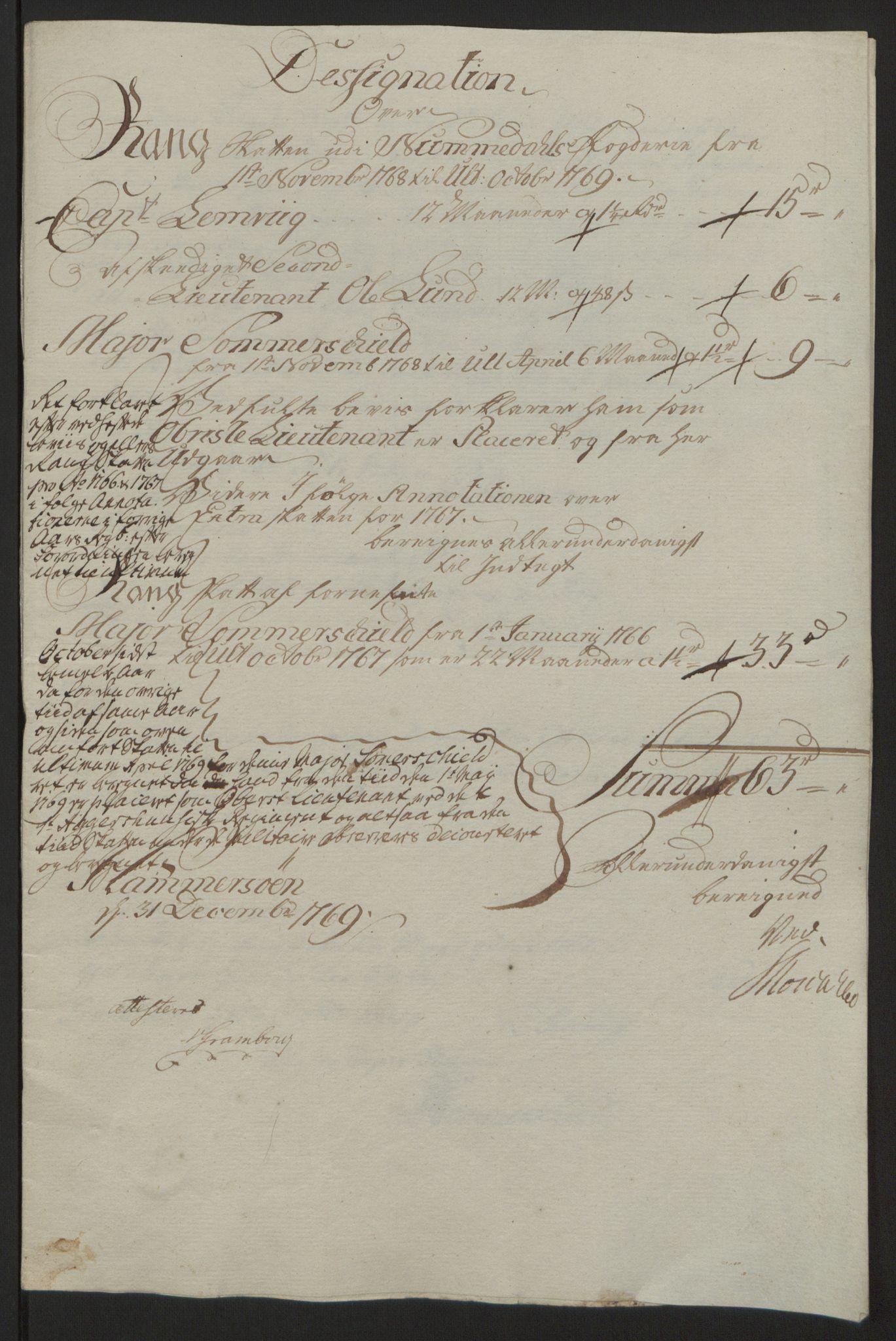 RA, Rentekammeret inntil 1814, Reviderte regnskaper, Fogderegnskap, R64/L4502: Ekstraskatten Namdal, 1762-1772, s. 314