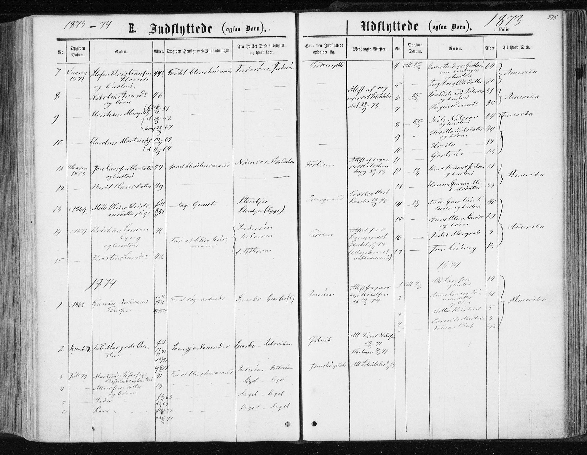 SAT, Ministerialprotokoller, klokkerbøker og fødselsregistre - Nord-Trøndelag, 741/L0394: Ministerialbok nr. 741A08, 1864-1877, s. 375