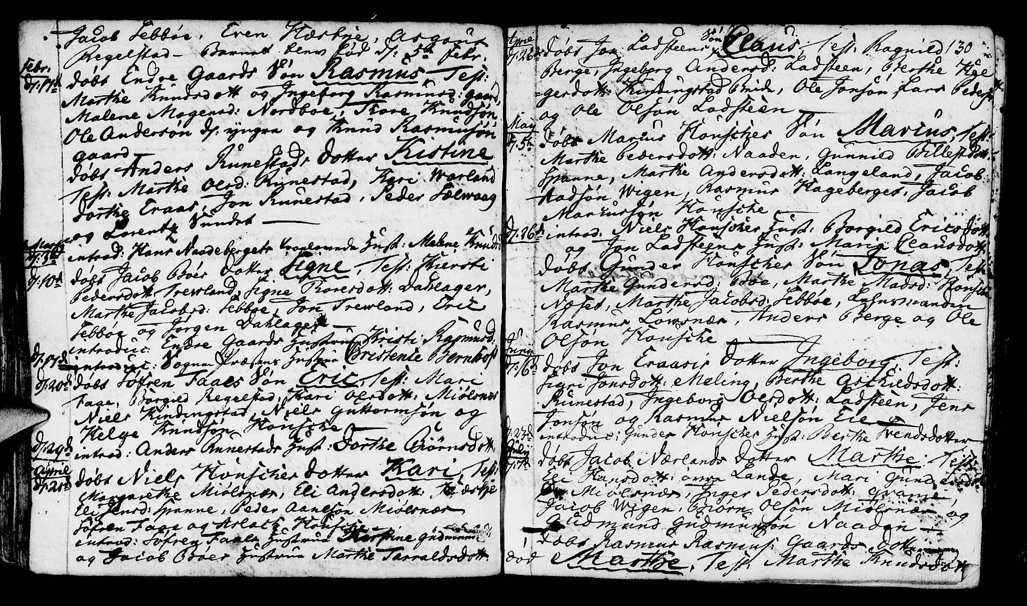 SAST, Finnøy sokneprestkontor, H/Ha/Haa/L0005: Ministerialbok nr. A 5, 1773-1816, s. 130