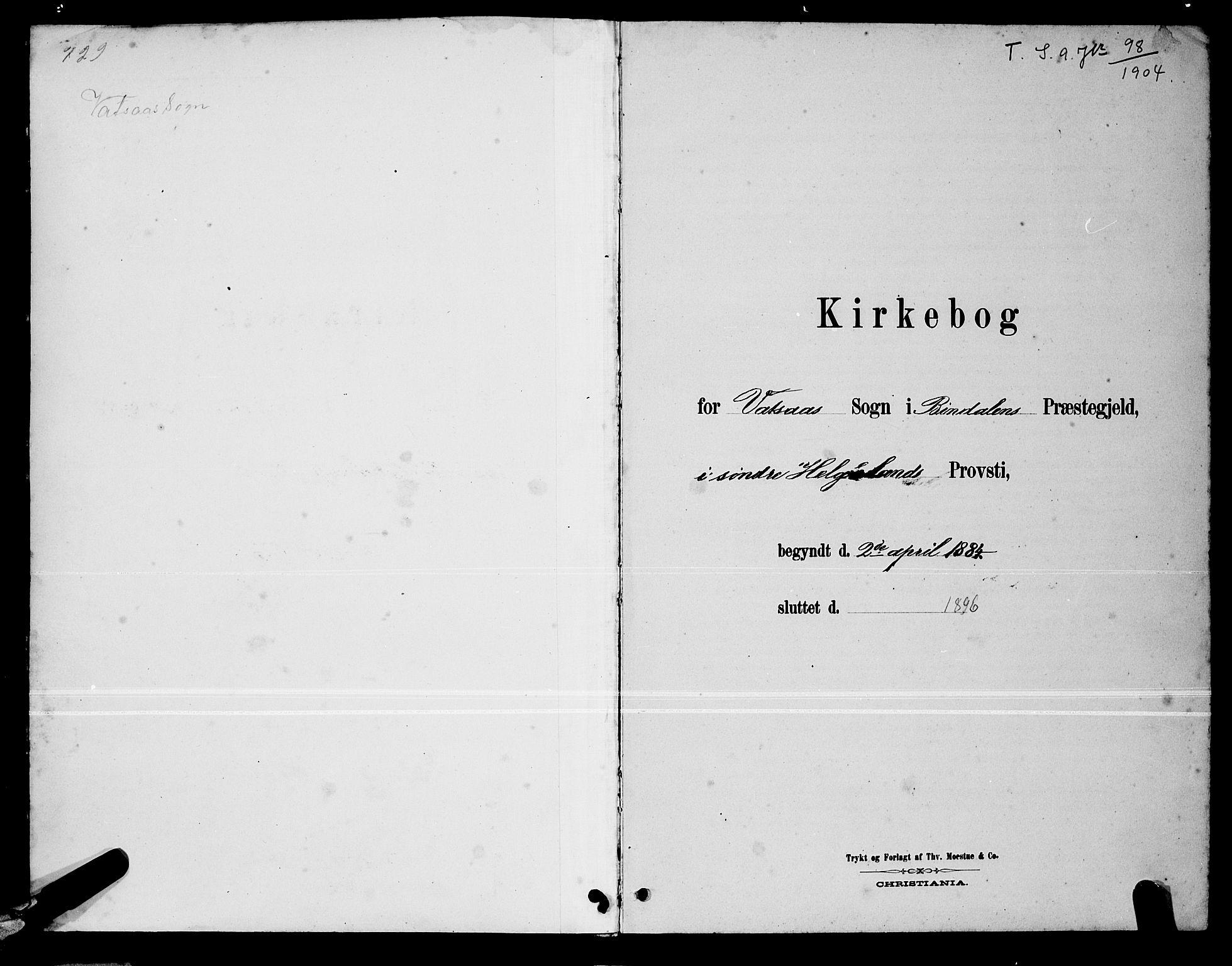 SAT, Ministerialprotokoller, klokkerbøker og fødselsregistre - Nordland, 810/L0160: Klokkerbok nr. 810C03, 1884-1896