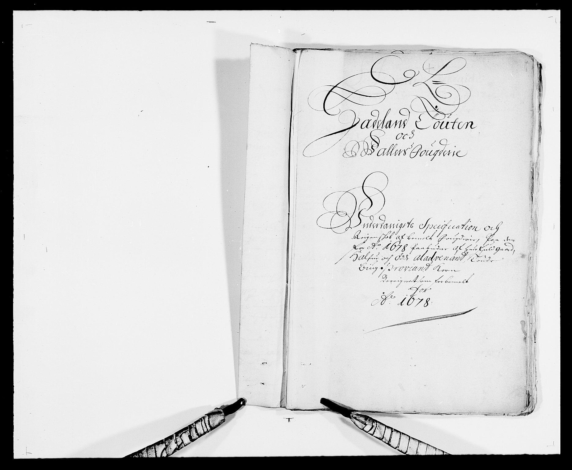 RA, Rentekammeret inntil 1814, Reviderte regnskaper, Fogderegnskap, R18/L1271: Fogderegnskap Hadeland, Toten og Valdres, 1678, s. 27
