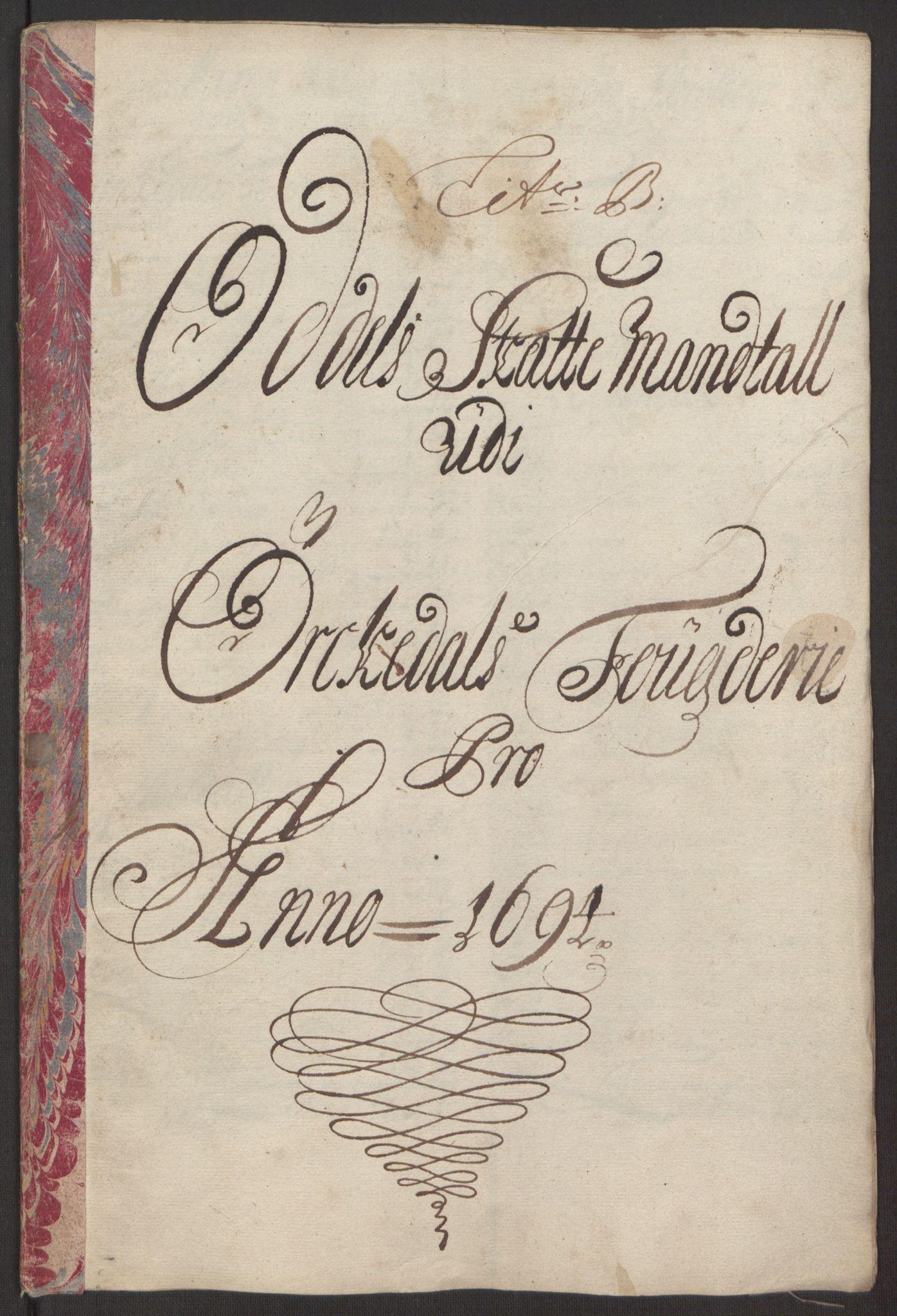 RA, Rentekammeret inntil 1814, Reviderte regnskaper, Fogderegnskap, R60/L3944: Fogderegnskap Orkdal og Gauldal, 1694, s. 61