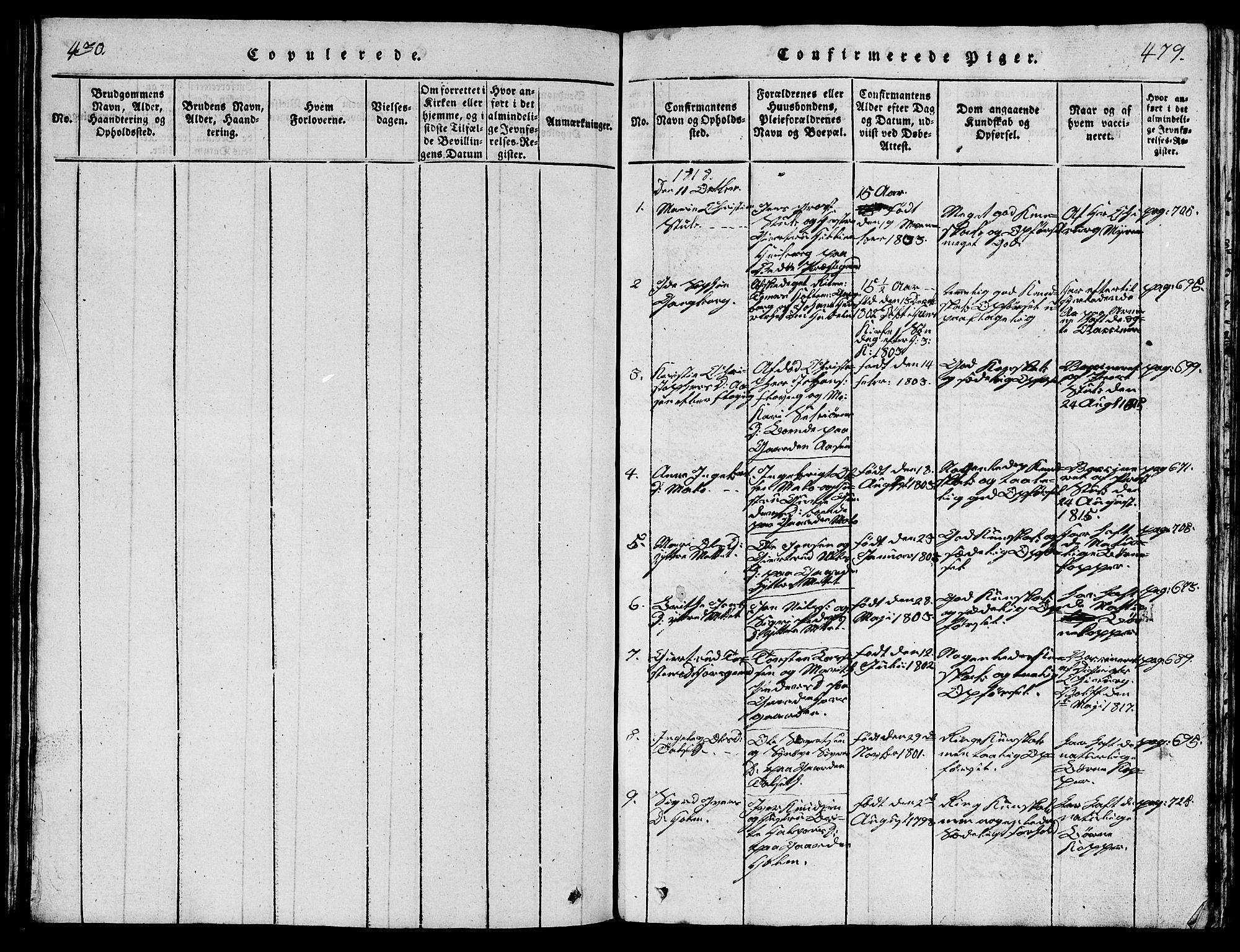 SAT, Ministerialprotokoller, klokkerbøker og fødselsregistre - Møre og Romsdal, 547/L0610: Klokkerbok nr. 547C01, 1818-1839, s. 479