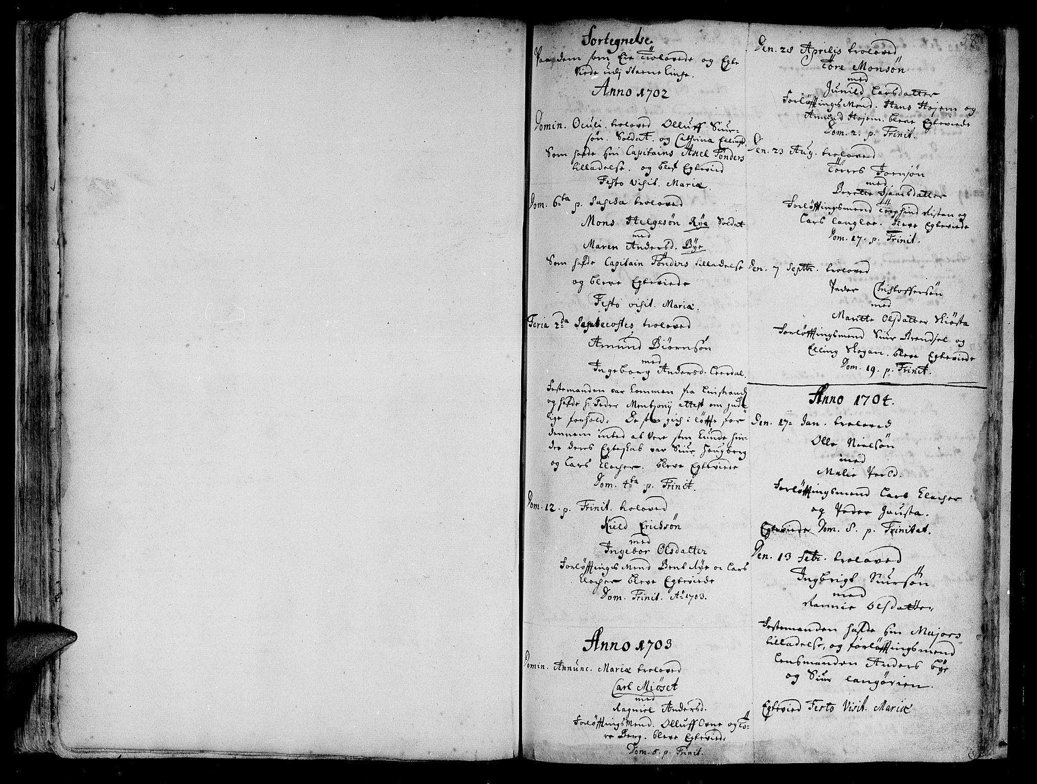 SAT, Ministerialprotokoller, klokkerbøker og fødselsregistre - Sør-Trøndelag, 612/L0368: Ministerialbok nr. 612A02, 1702-1753, s. 58