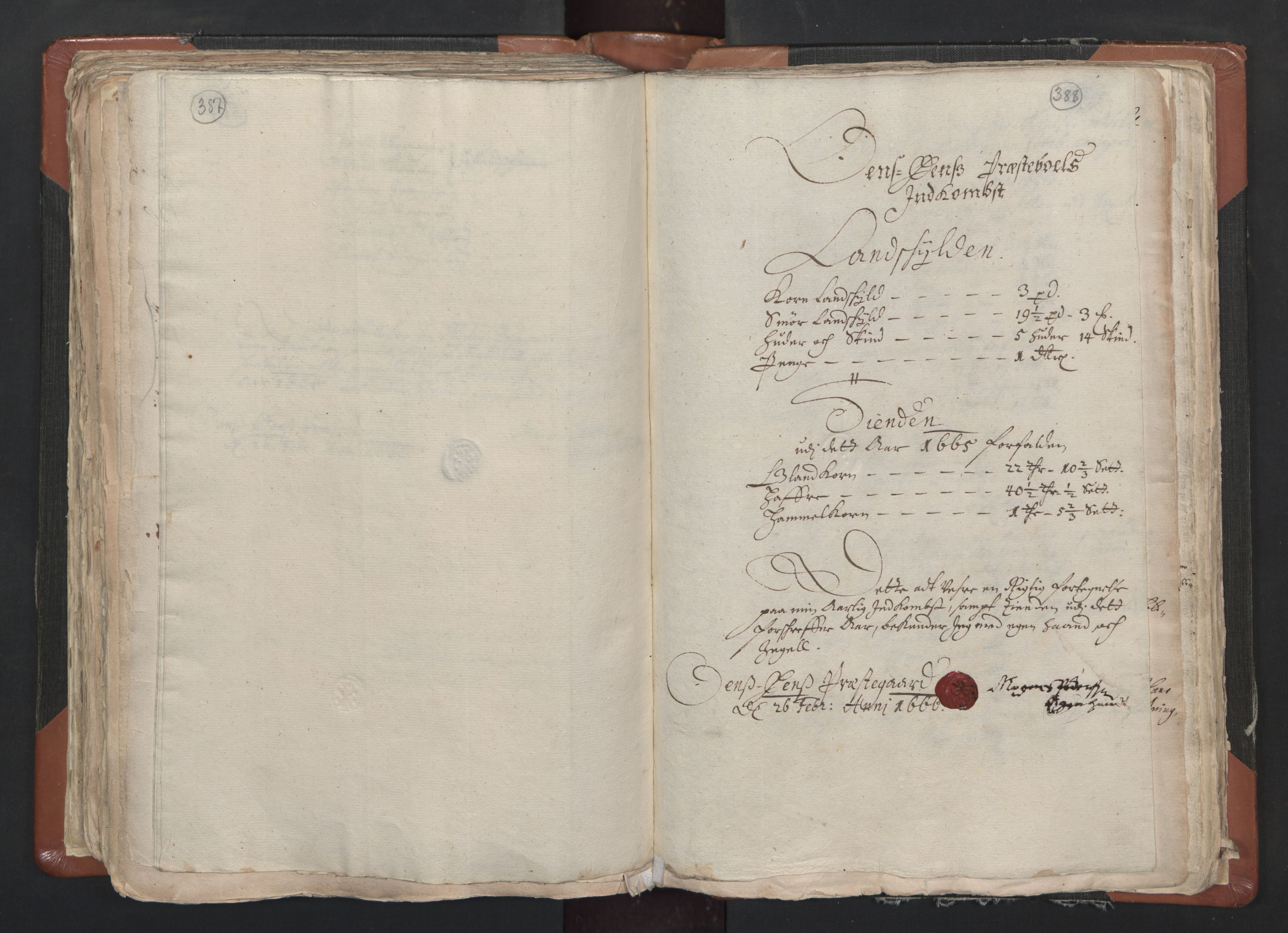 RA, Sogneprestenes manntall 1664-1666, nr. 1: Nedre Borgesyssel prosti, 1664-1666, s. 387-388