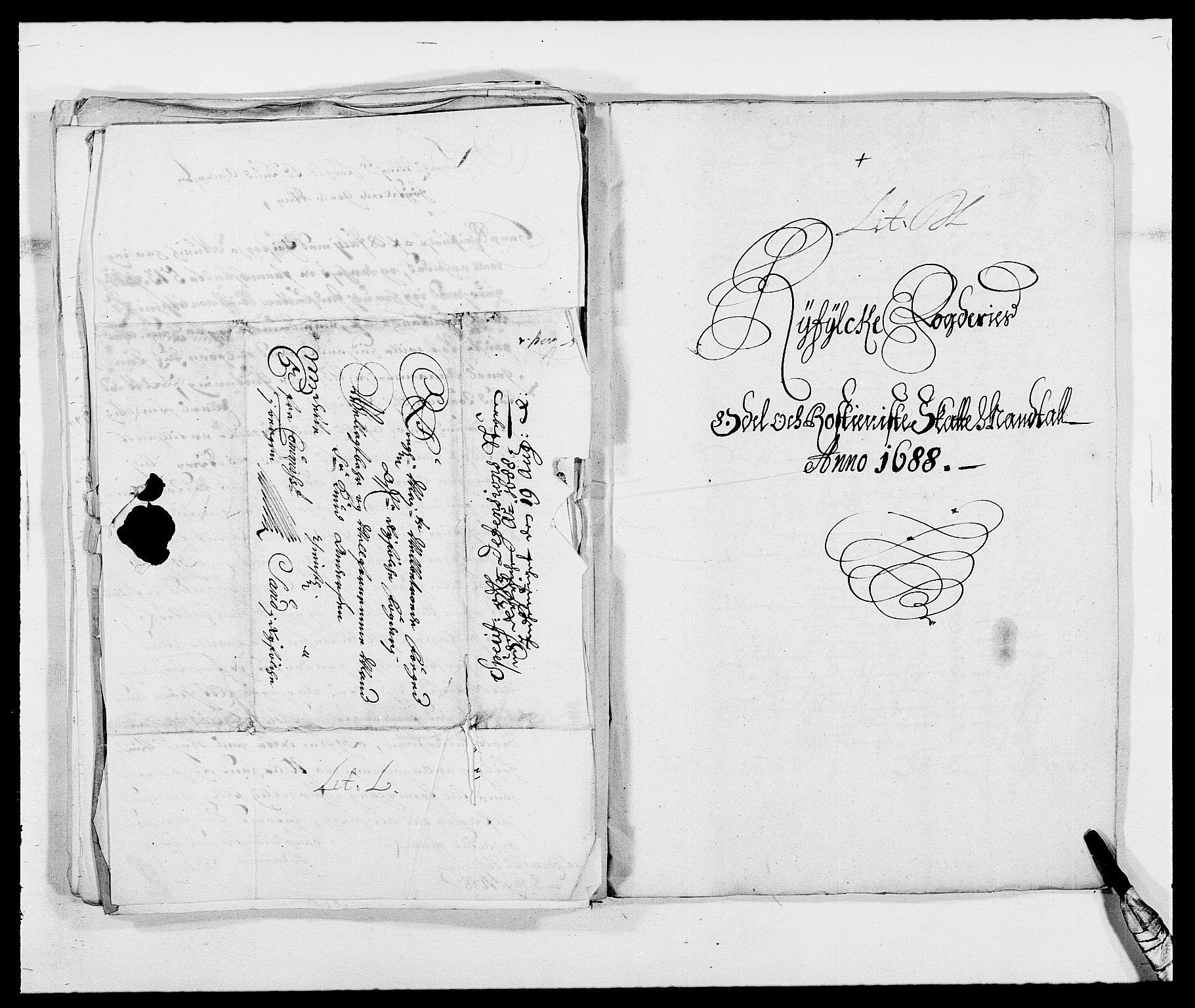 RA, Rentekammeret inntil 1814, Reviderte regnskaper, Fogderegnskap, R47/L2855: Fogderegnskap Ryfylke, 1685-1688, s. 392