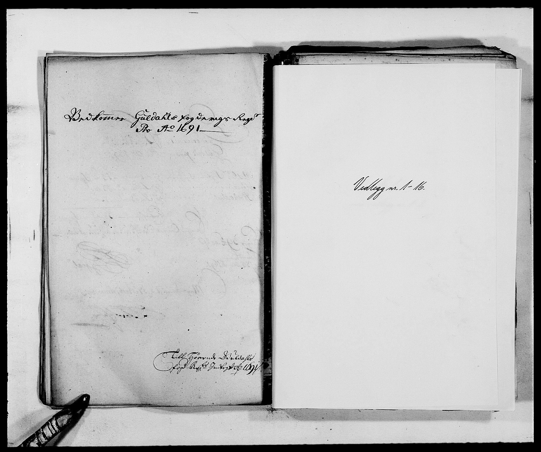 RA, Rentekammeret inntil 1814, Reviderte regnskaper, Fogderegnskap, R59/L3941: Fogderegnskap Gauldal, 1691, s. 159